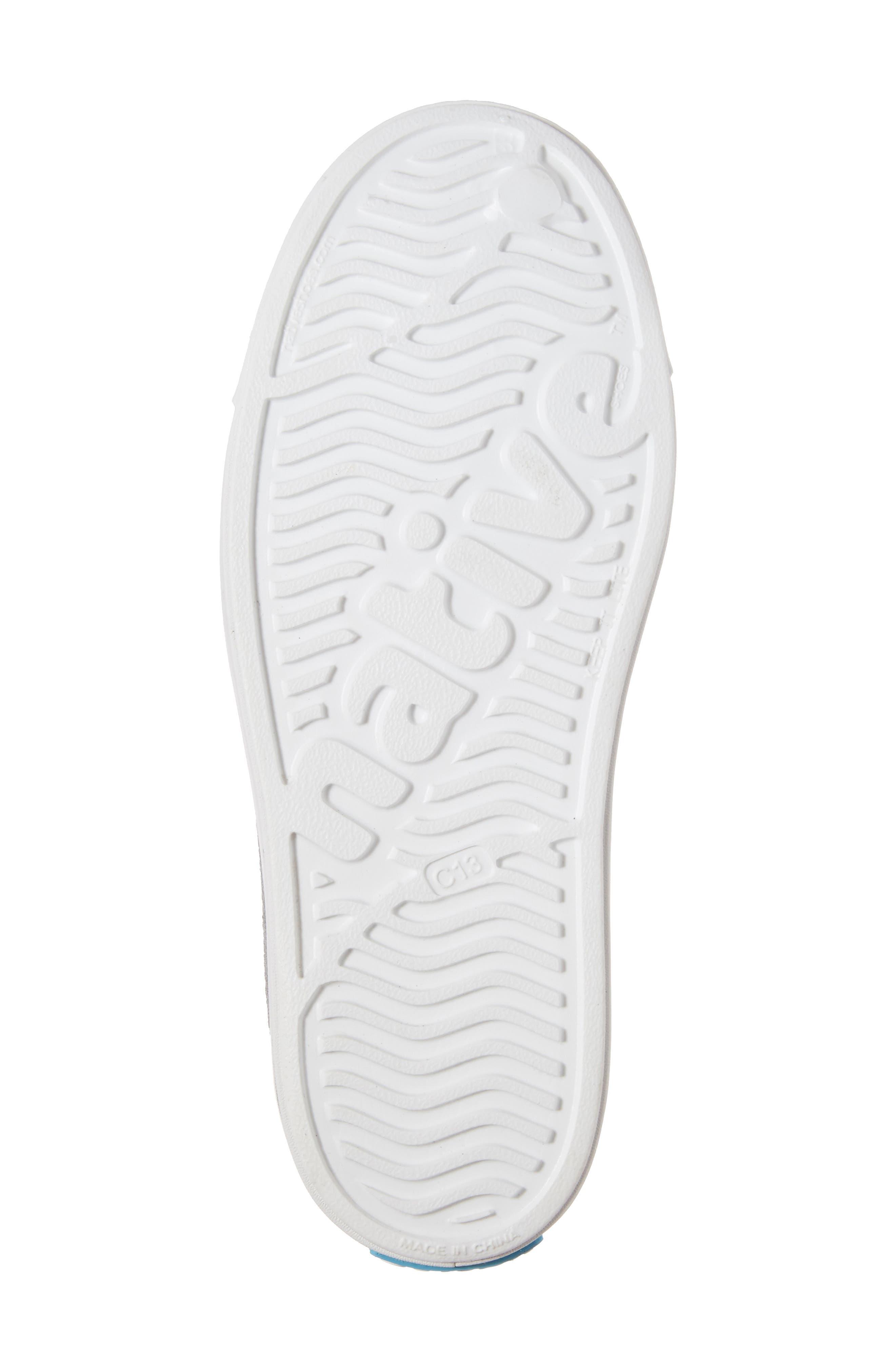 Alternate Image 6  - Native Shoes Juniper Bling Perforated Mary Jane (Baby, Walker, Toddler & Little Kid)