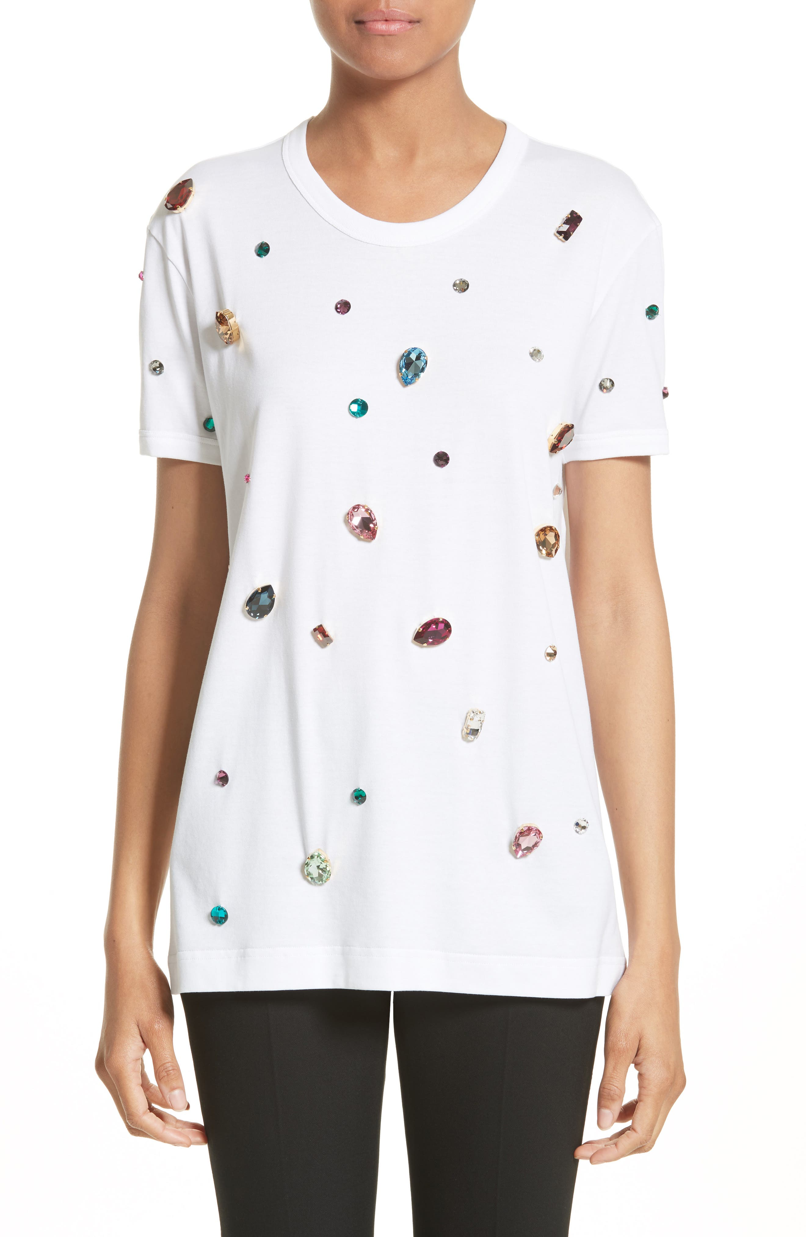 DOLCE&GABBANA Jewel Cotton Tee