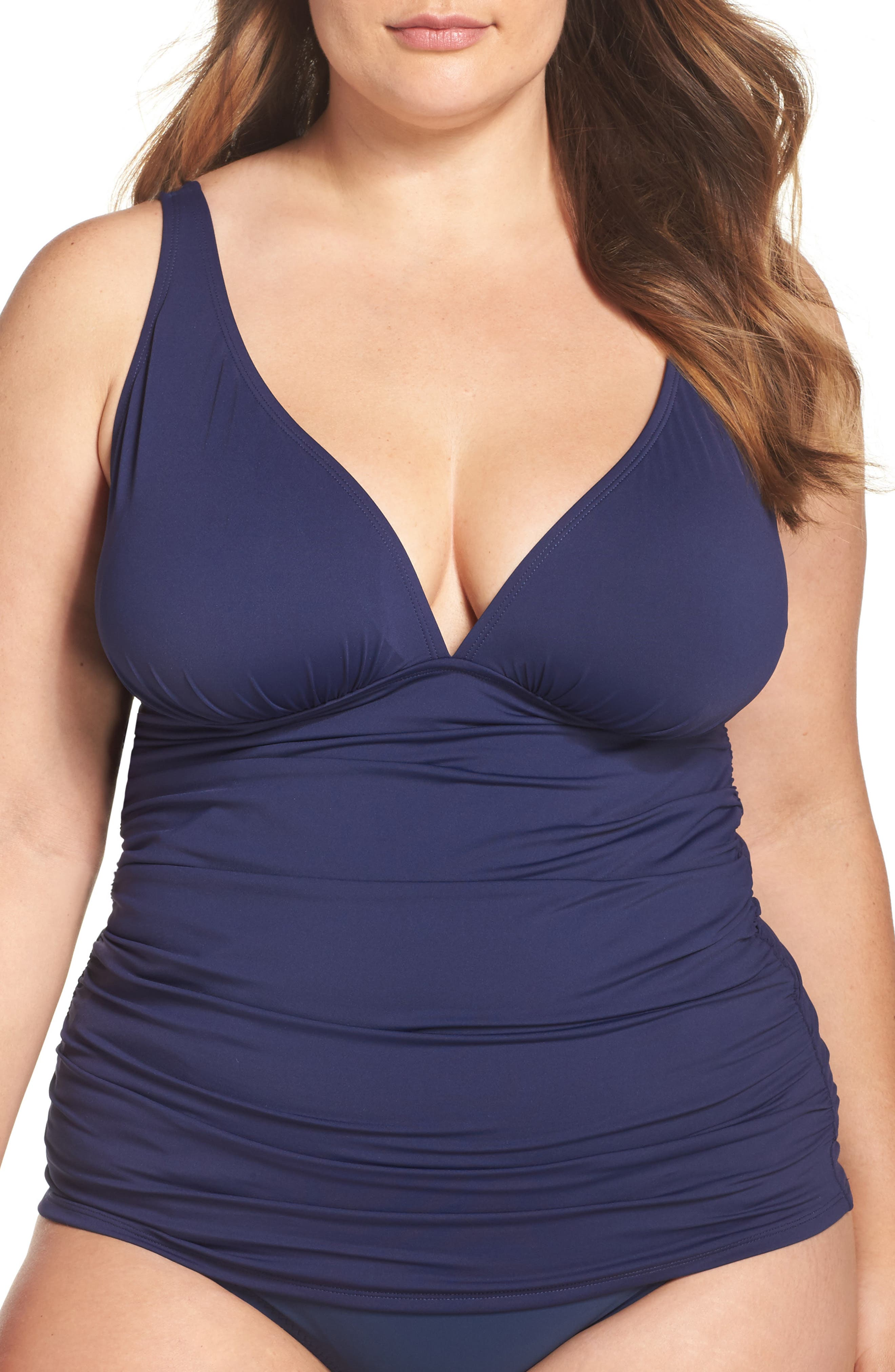 Tommy Bahama Pearl Tankini Top (Plus Size)
