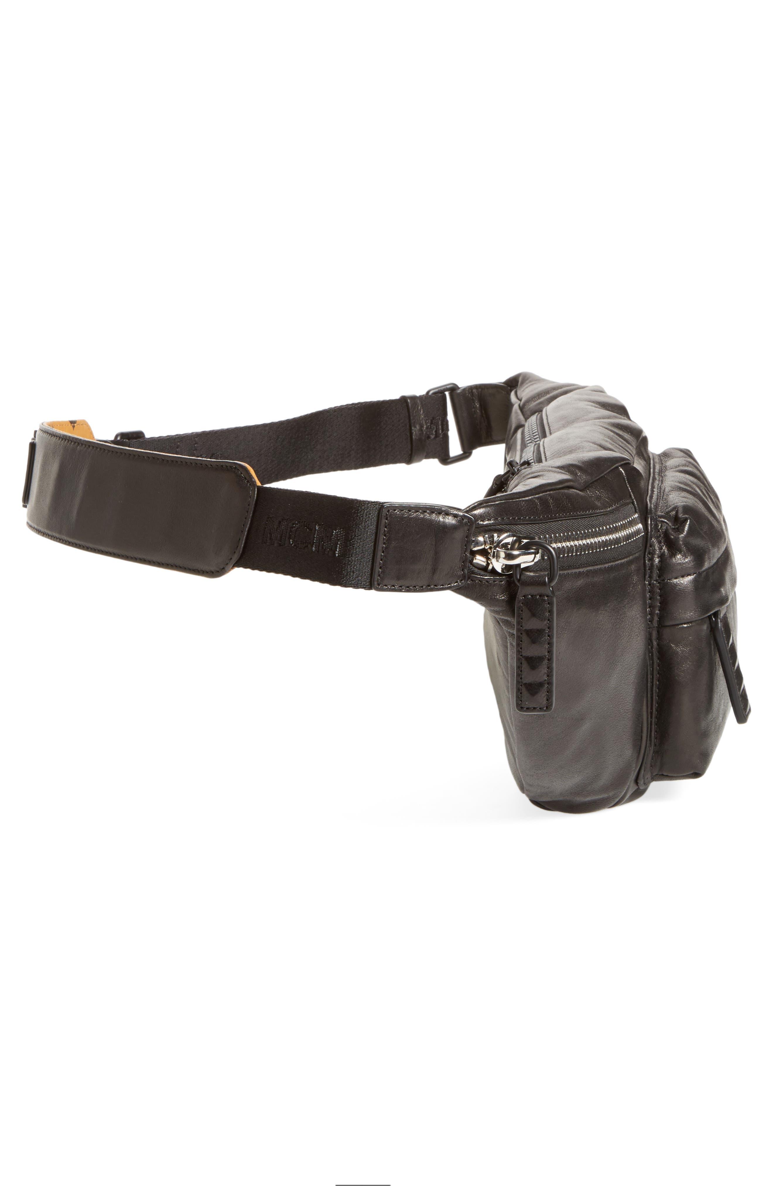 Alternate Image 5  - MCM Leather Waist Bag