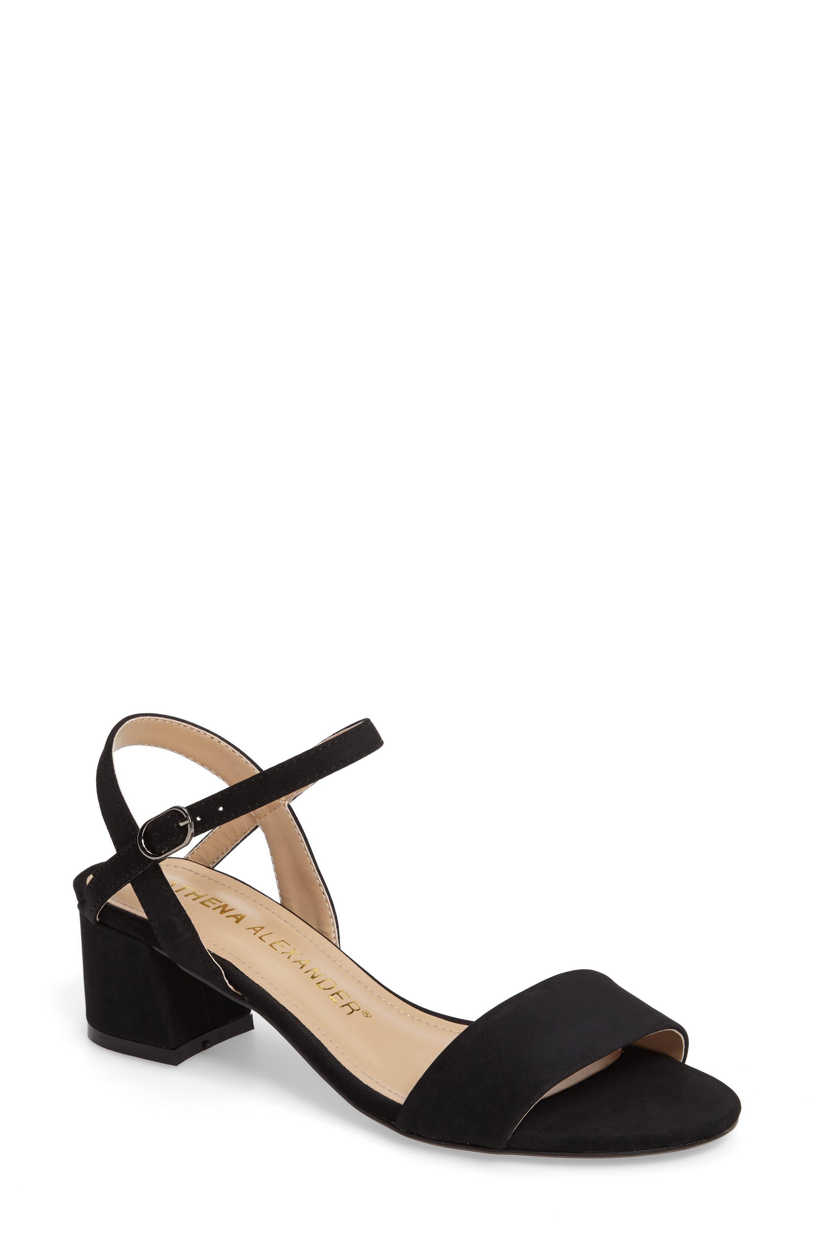 Athena Alexander Jacoba Block Heel Sandal (Women)