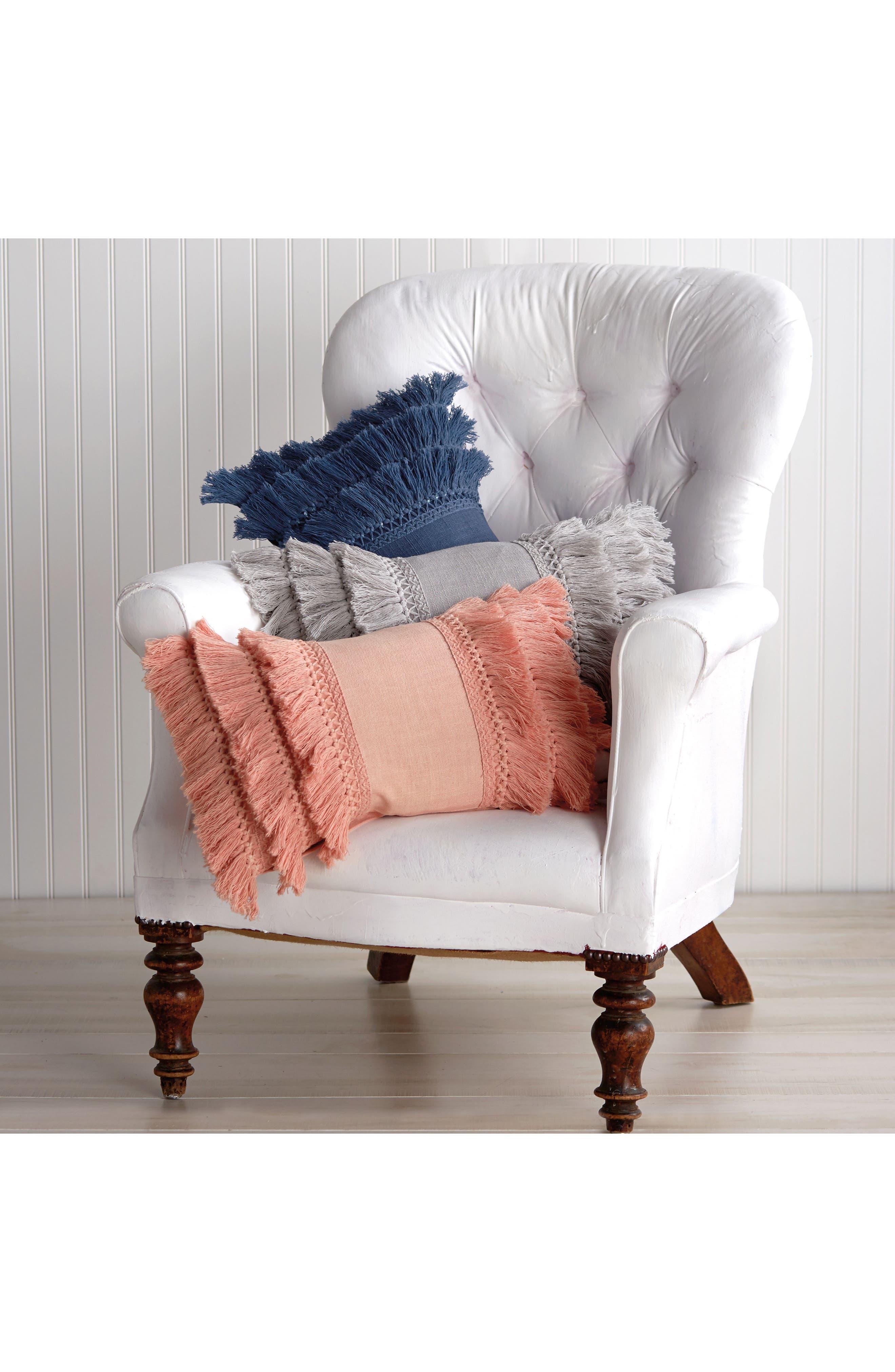 Alternate Image 4  - Peri Home Fringe Pillow