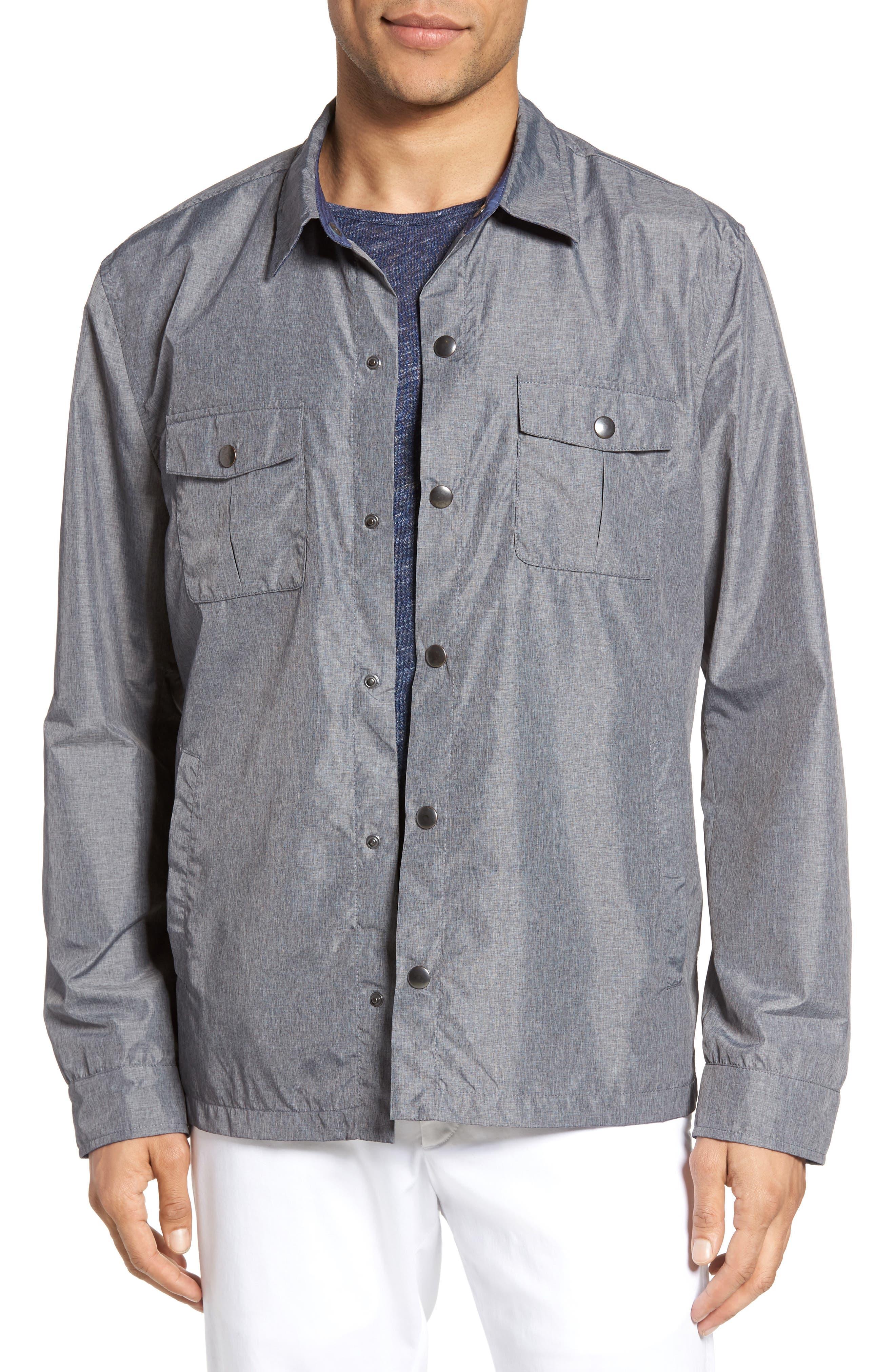 Zachary Prell Aronia Snap Front Jacket