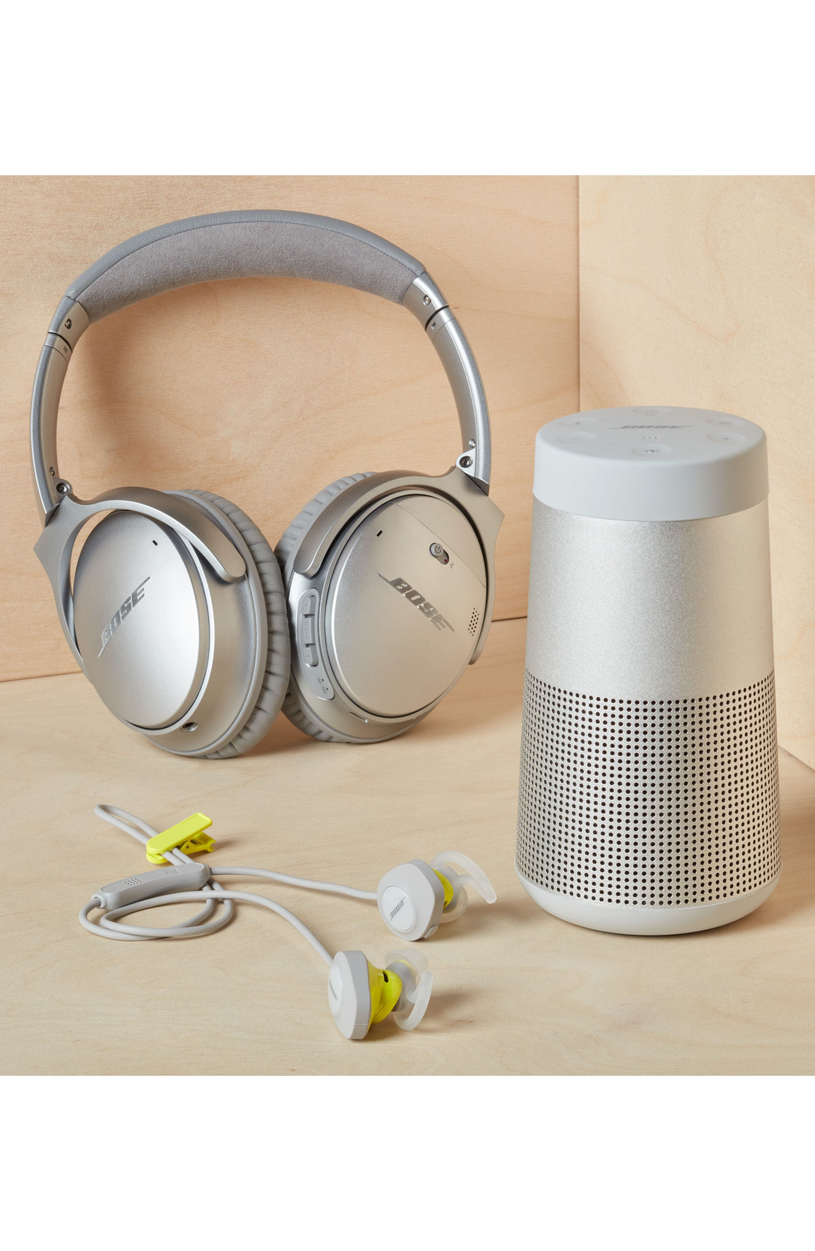 Alternate Image 19  - Bose® QuietComfort® 35 Acoustic Noise Cancelling® Bluetooth® Headphones