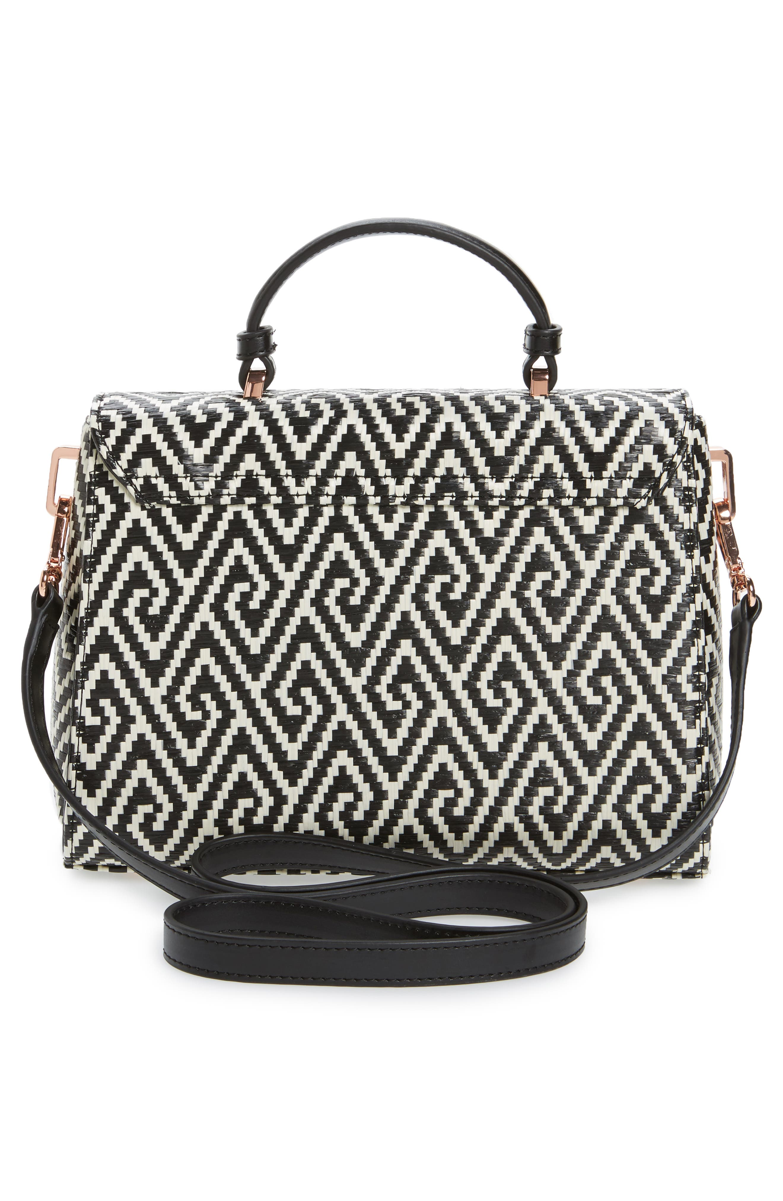 Alternate Image 2  - Ted Baker London Woven Straw Top Handle Satchel