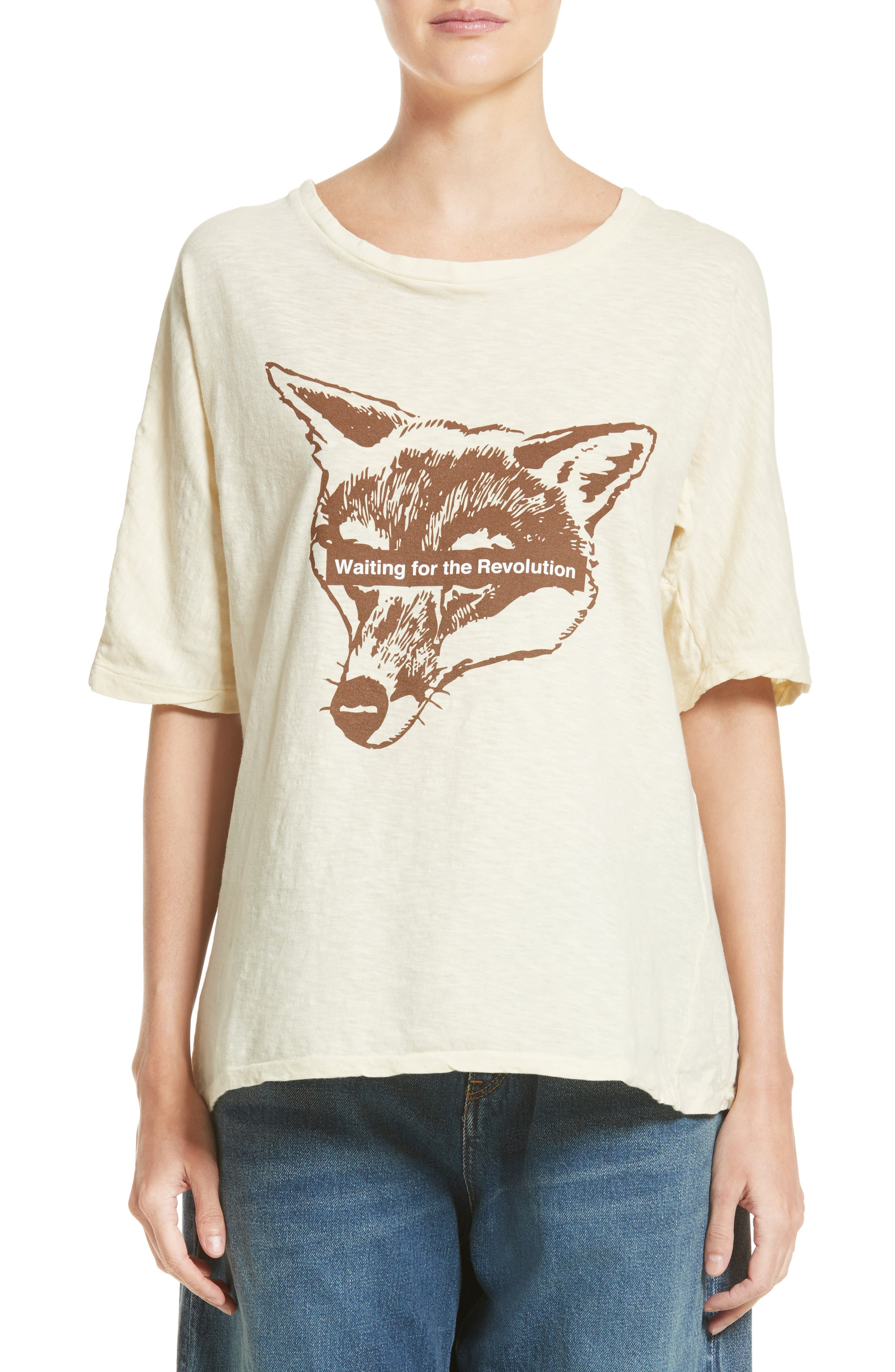 Alternate Image 1 Selected - Undercover Wolf Tee