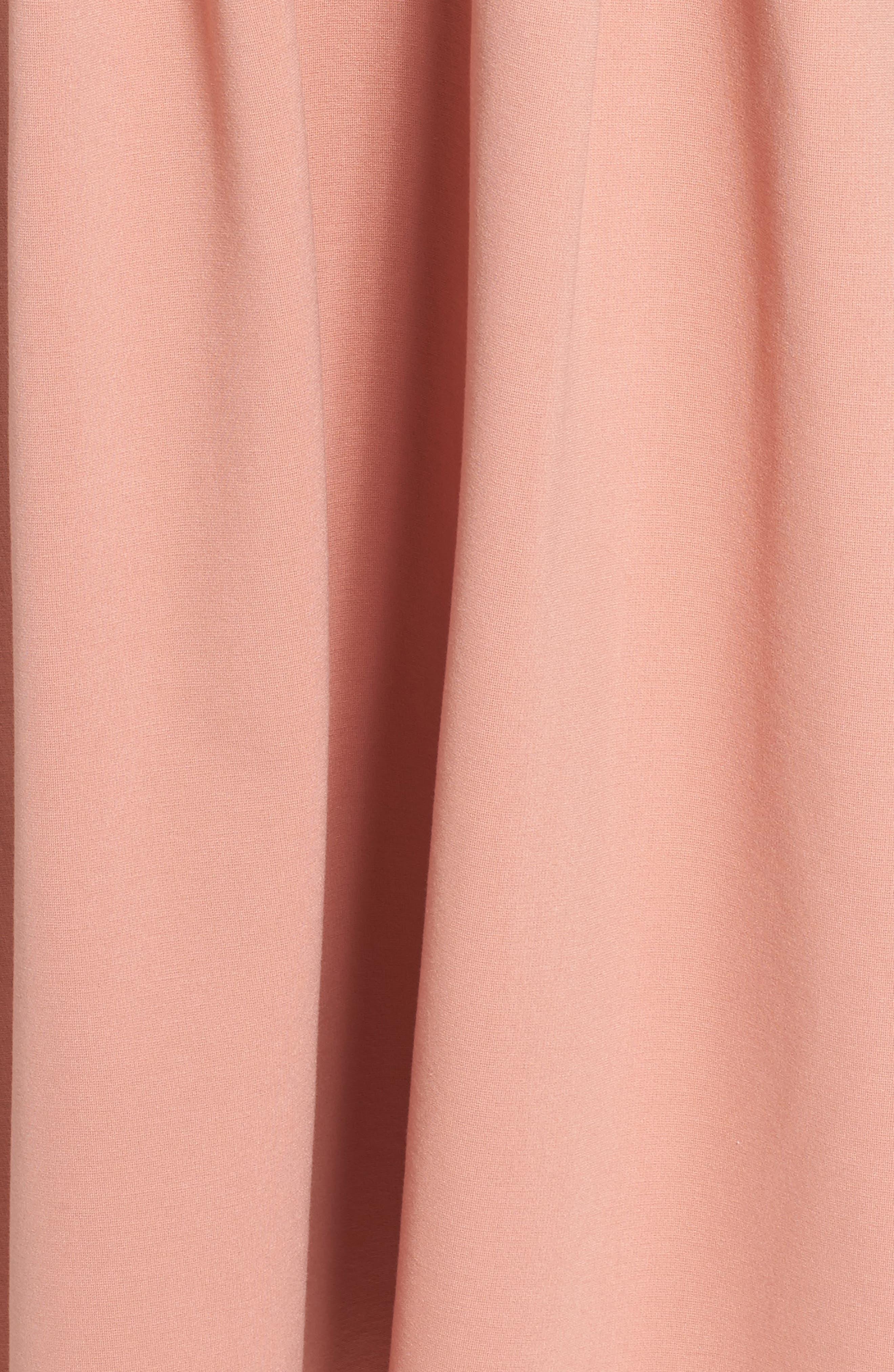 Alternate Image 6  - Charles Henry Strapless Midi Dress