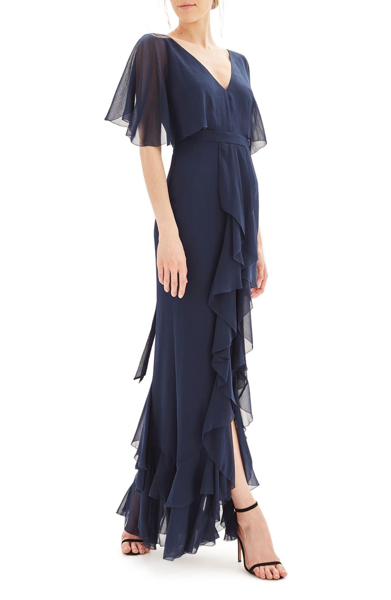 Topshop Bride Cascade Gown