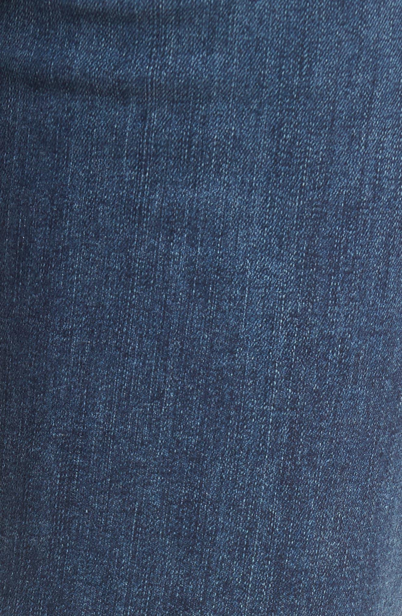 Alternate Image 5  - PAIGE Hoxton High Waist Ankle Skinny Jeans (Kiana)