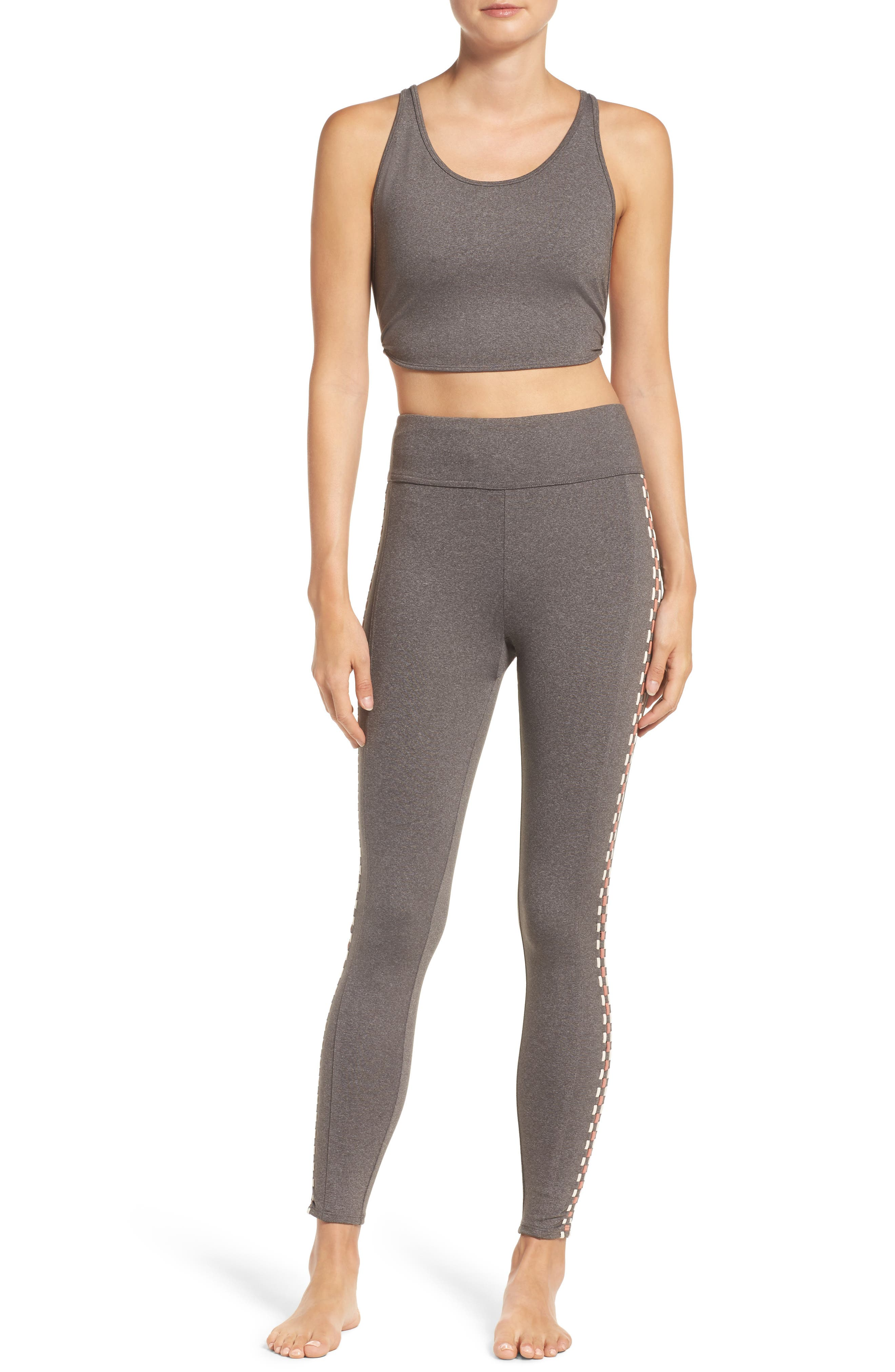 Free People Crop Top & Leggings Outfit