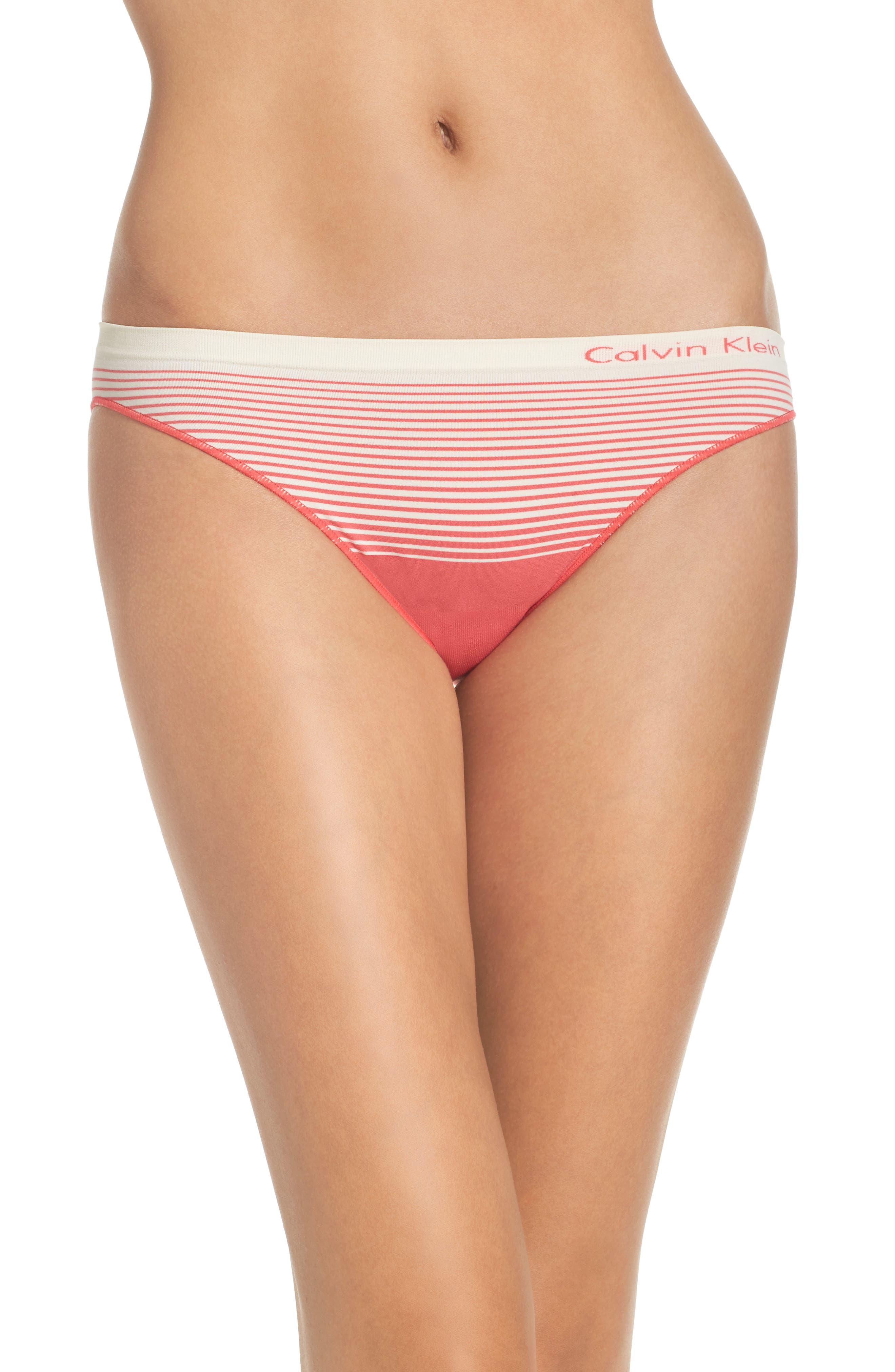 CALVIN KLEIN Illusion Seamless Bikini Briefs