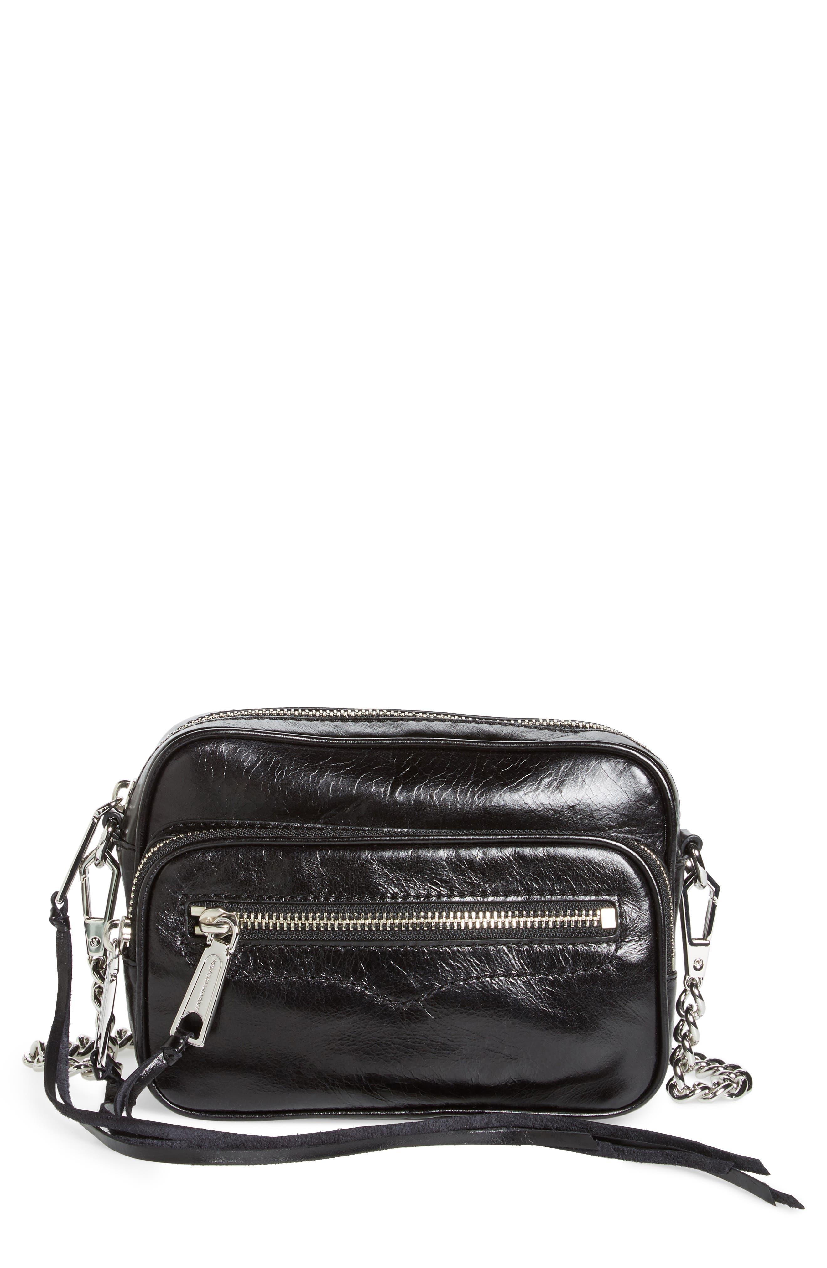 Rebecca Minoff Solstice Leather Camera Bag