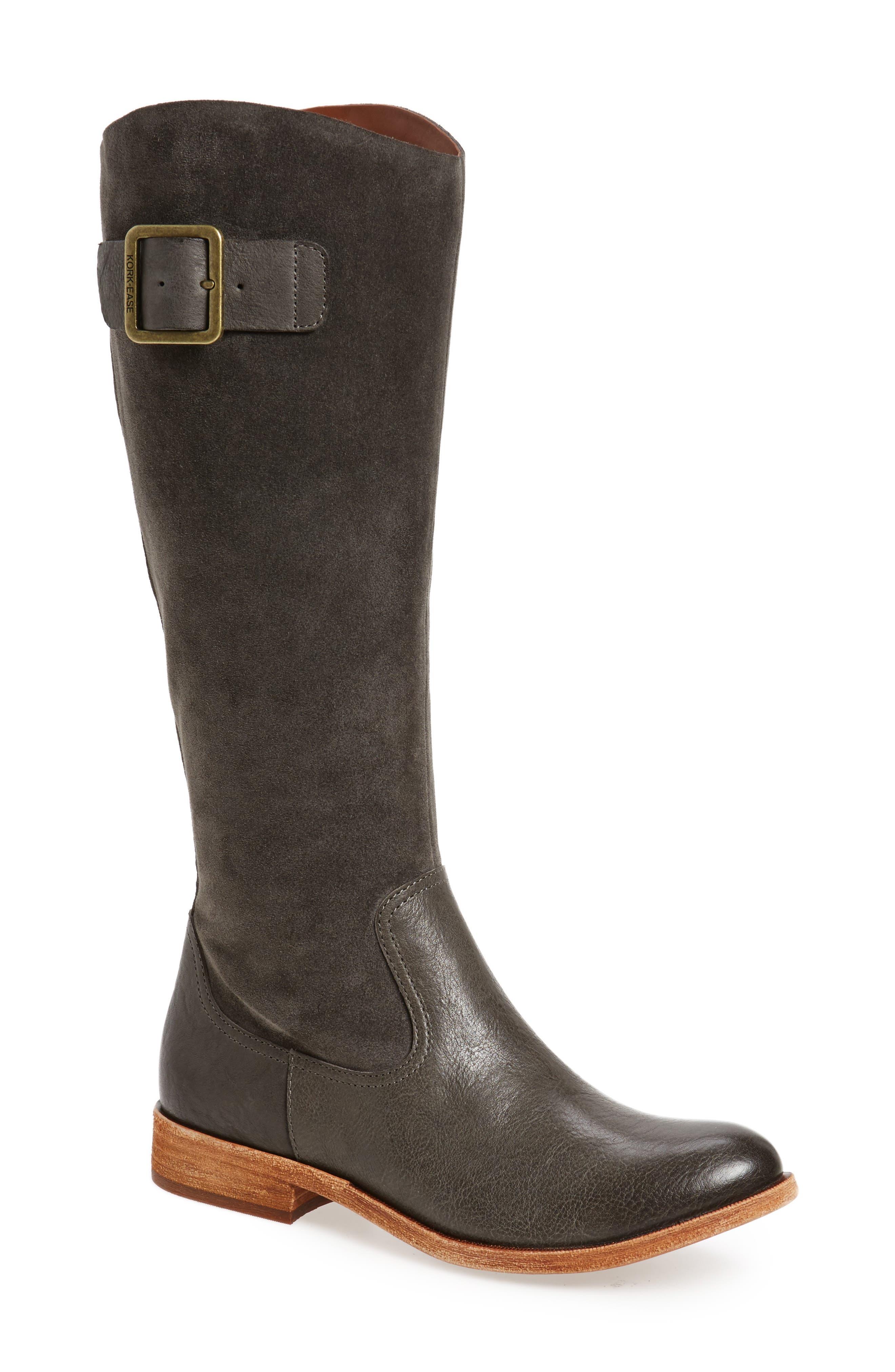 Kork-Ease® Rue Tall Boot (Women) (Wide Calf)