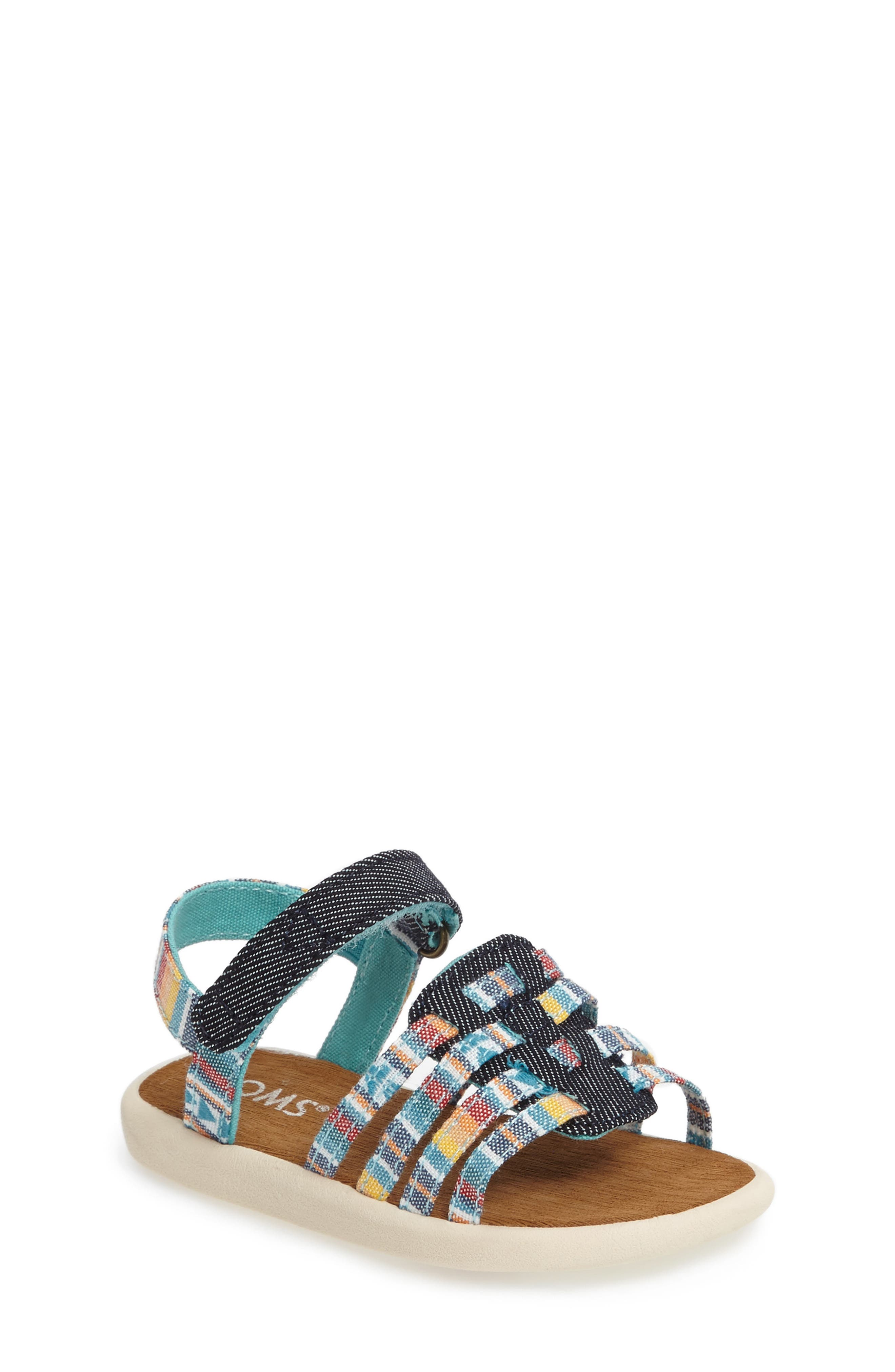 TOMS Huarache Sandal (Baby, Walker, Toddler, Little Kid & Big Kid)