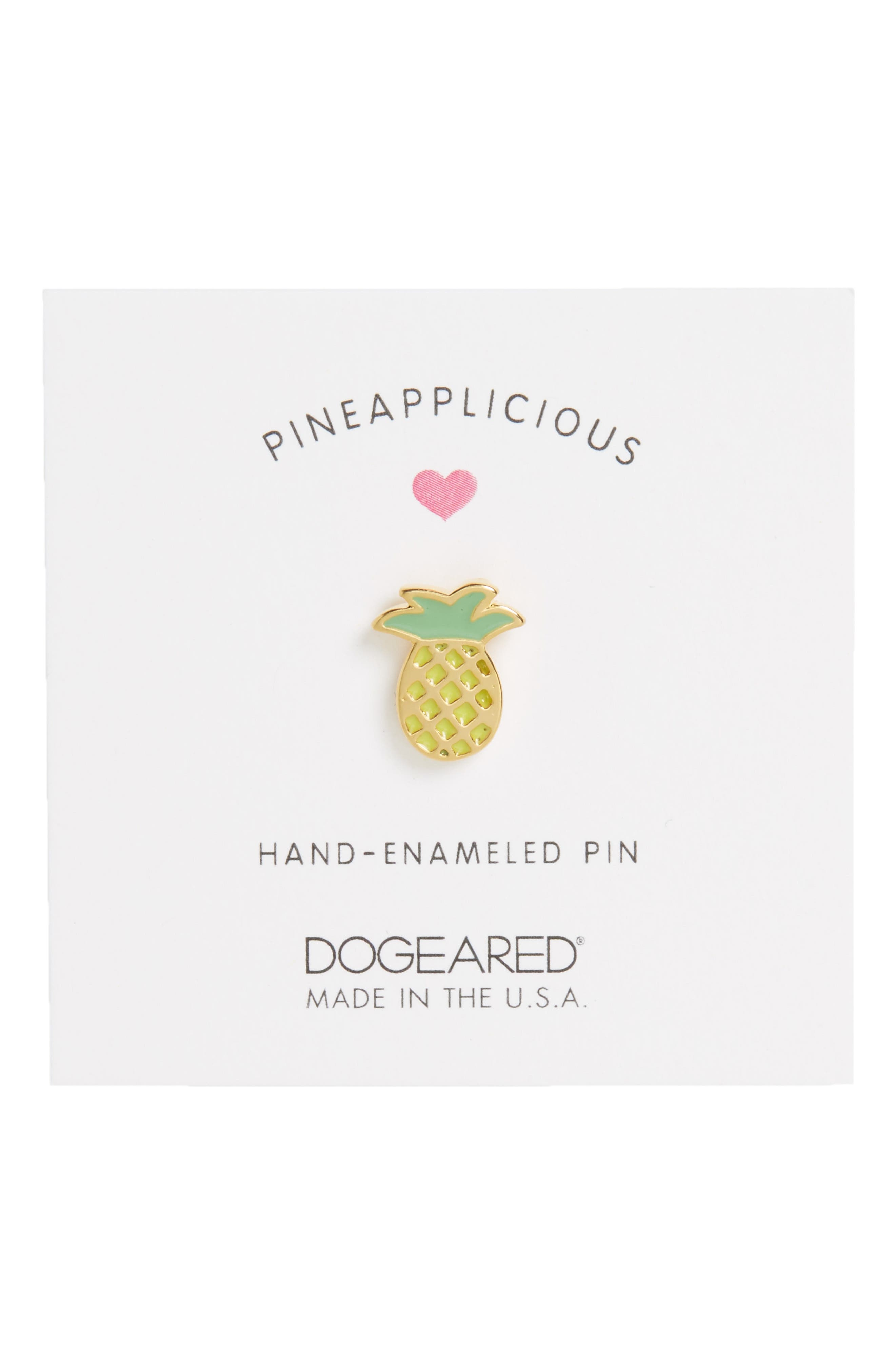Alternate Image 2  - Dogeared Pineapplicious Pin