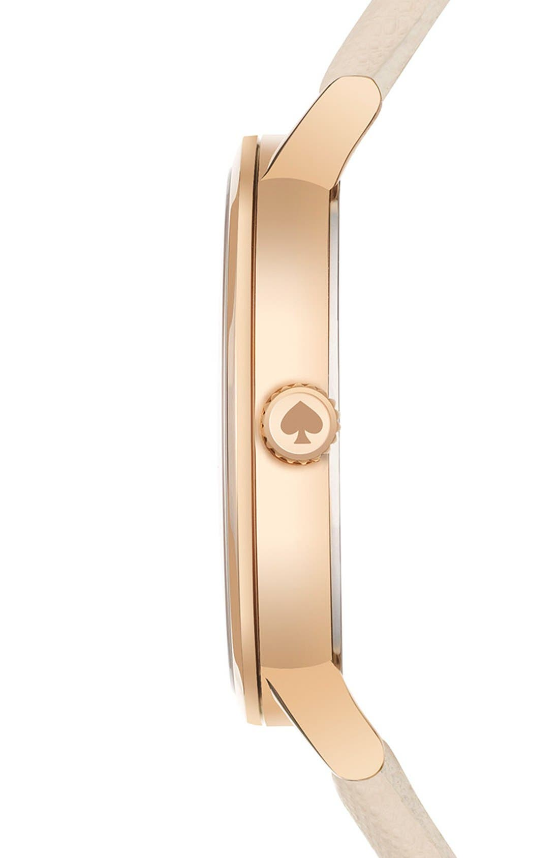 Alternate Image 3  - kate spade new york 'metro' boxed dot dial watch & straps set, 34mm (Nordstrom Exclusive)