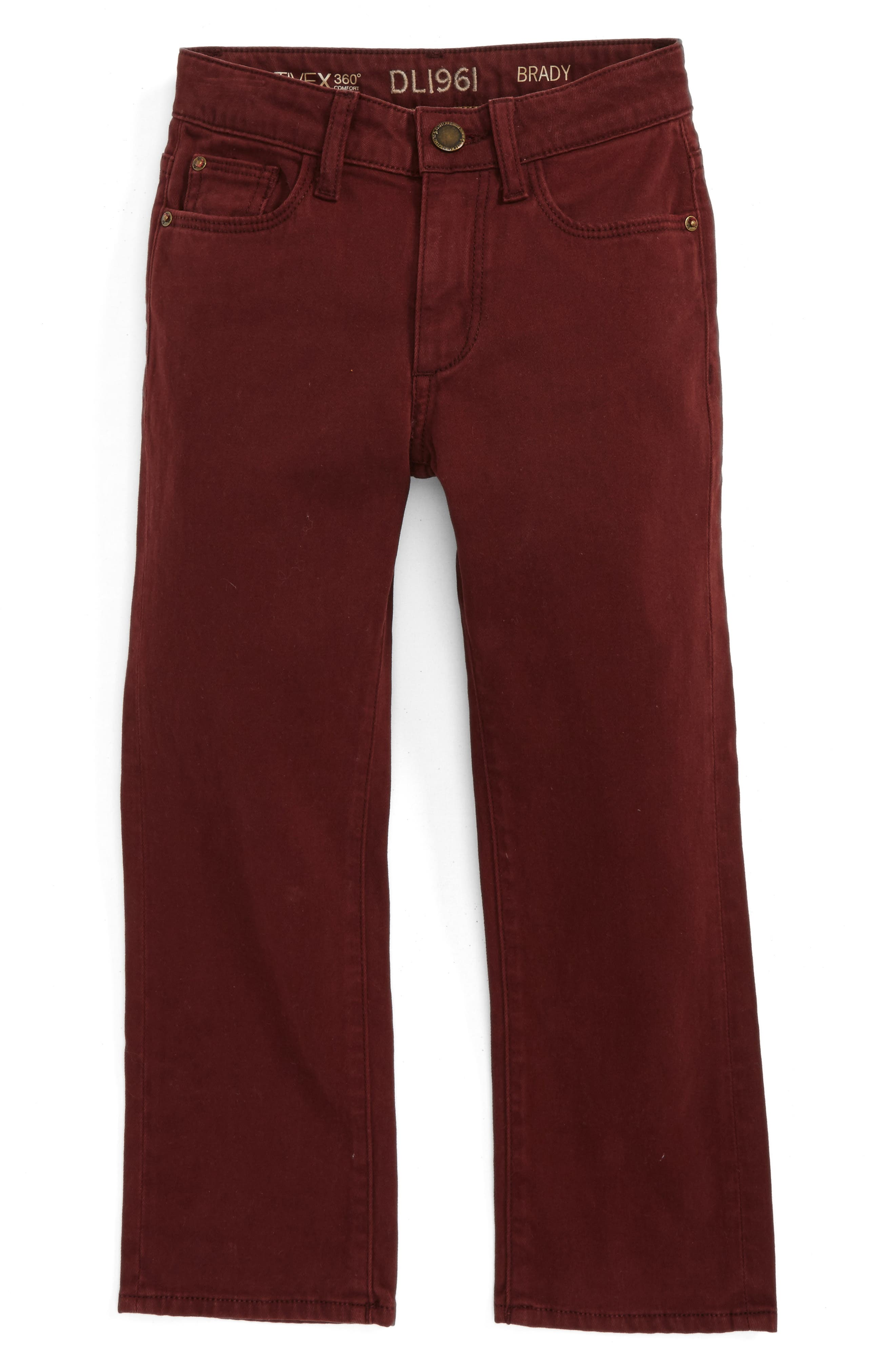 DL1961 Brady Slim Fit Twill Pants (Big Boys)