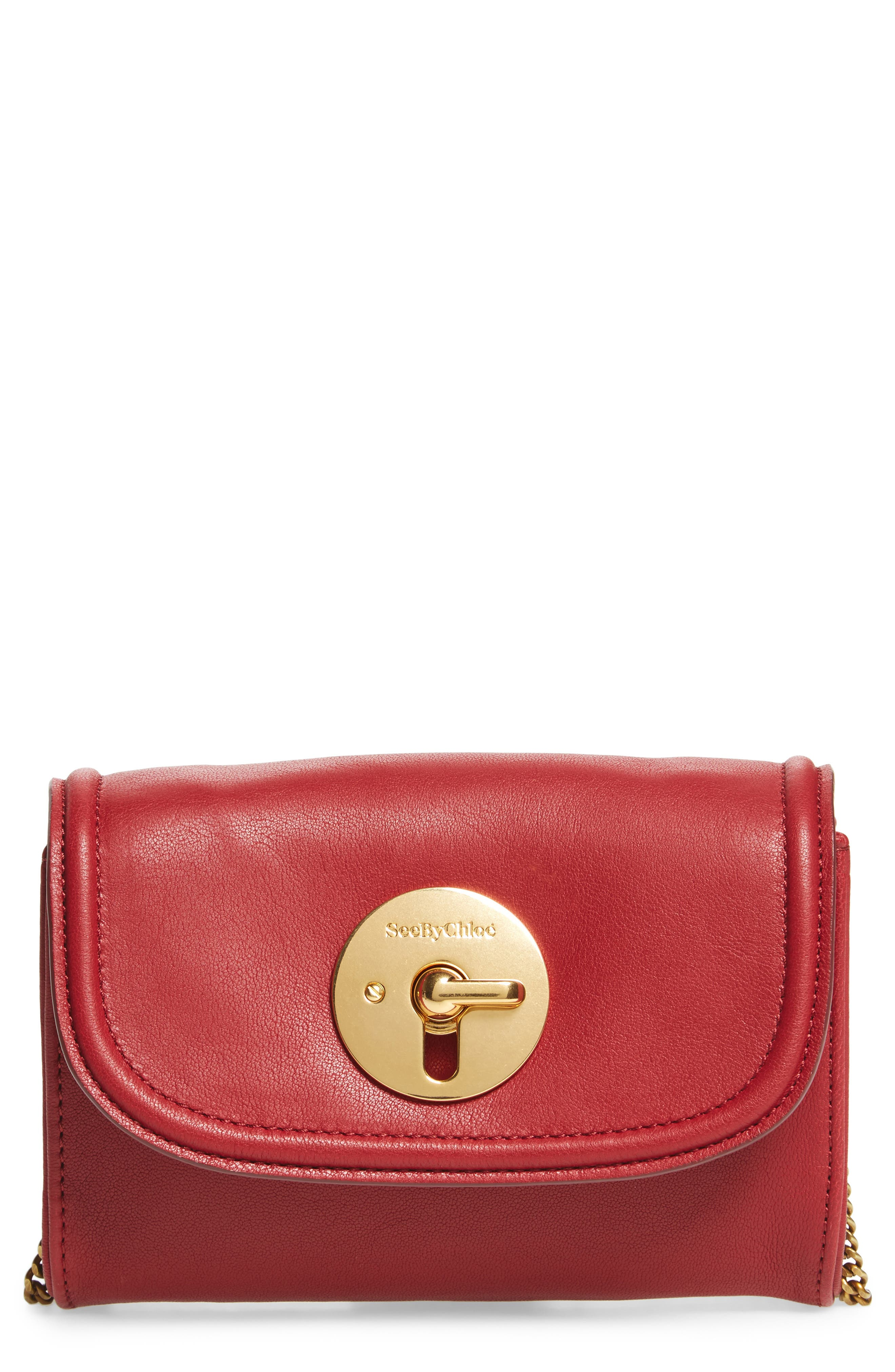 See by Chloé Mini Leather Crossbody Bag