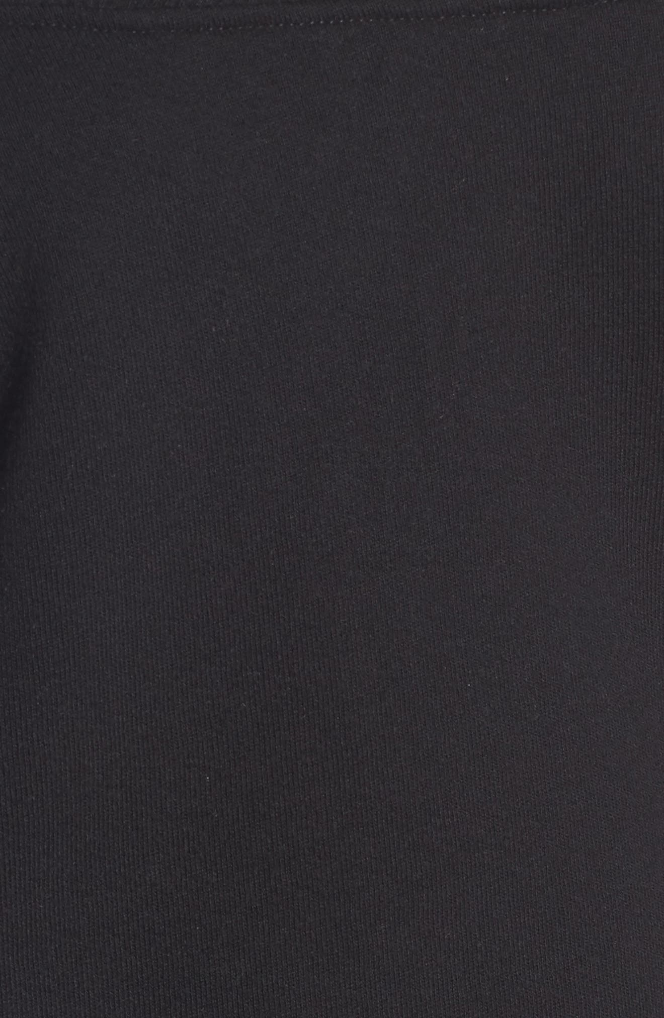 Alternate Image 5  - Socialite Off the Shoulder Sweatshirt