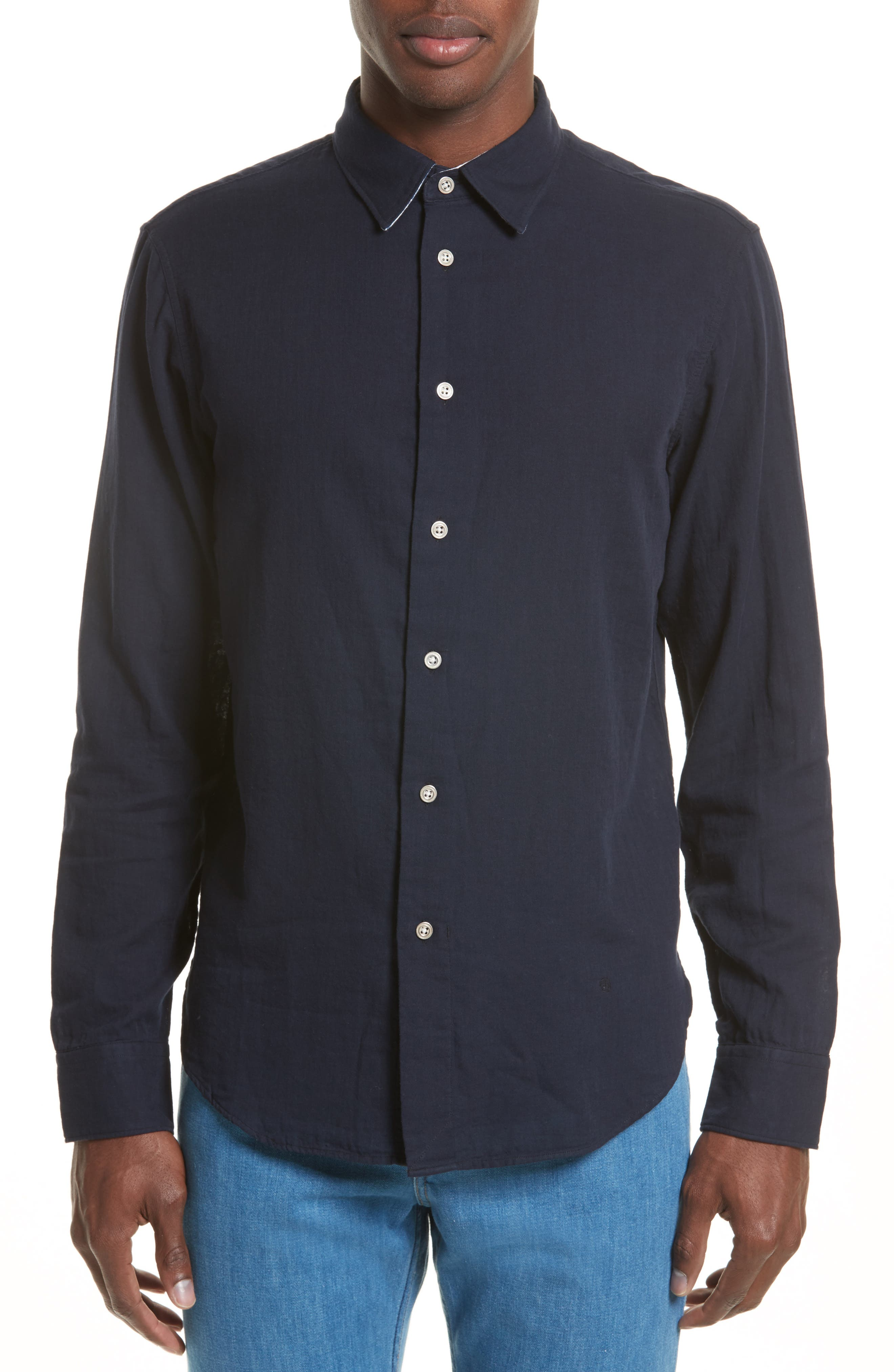 rag & bone Strand Cotton Sport Shirt
