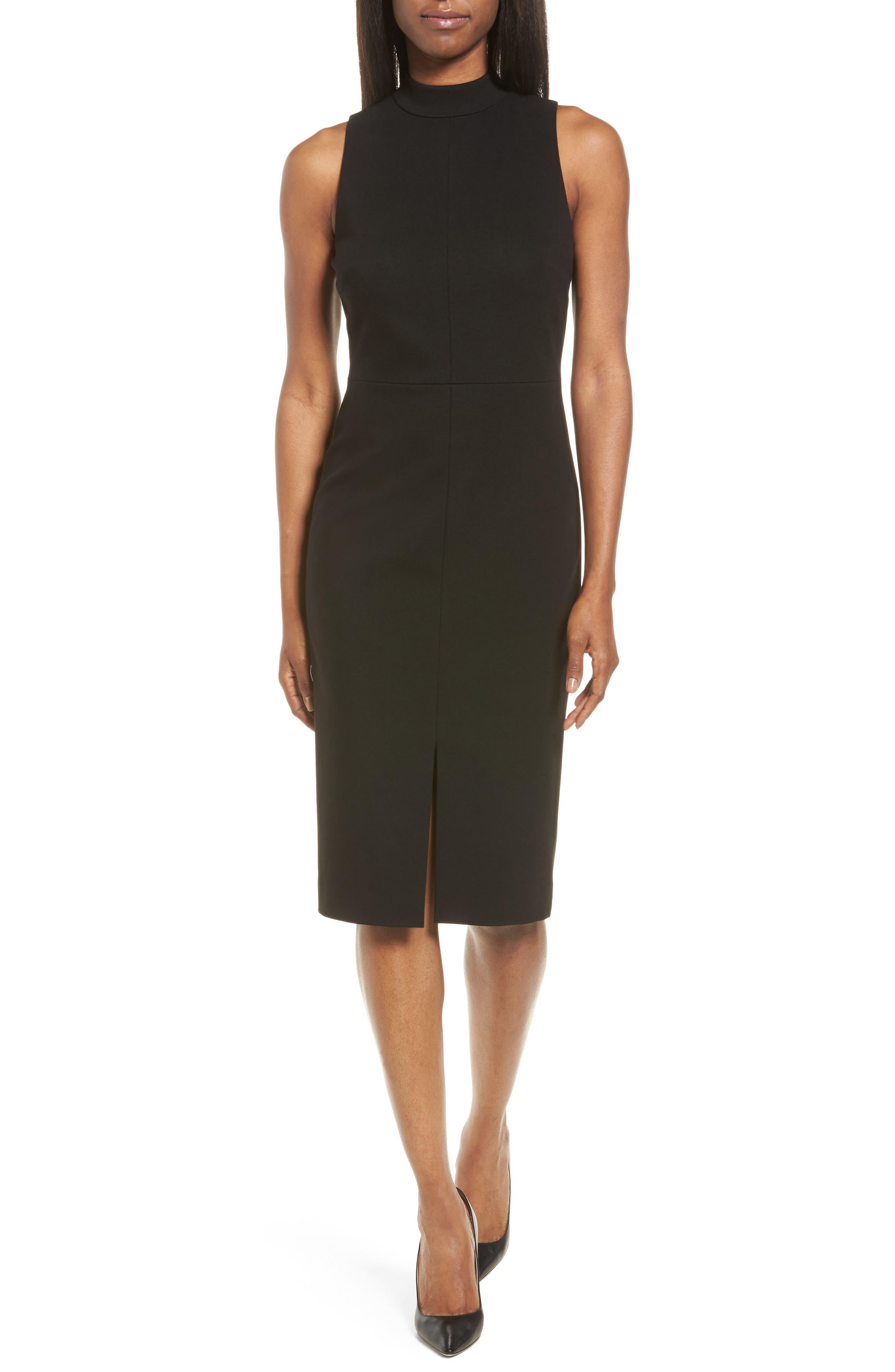 Classiques Entier® Italian Ponte Knit Sheath Dress