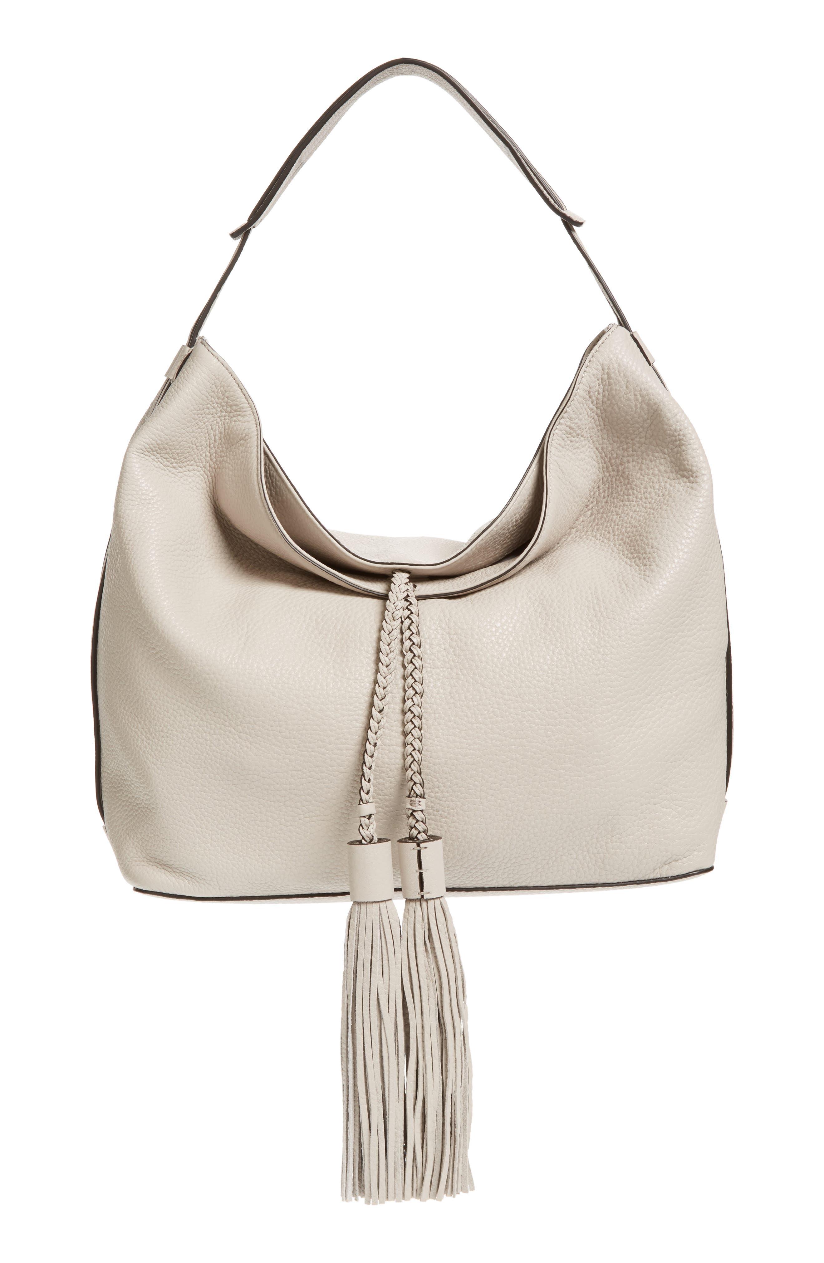 REBECCA MINKOFF 'Isobel' Tassel Leather Hobo