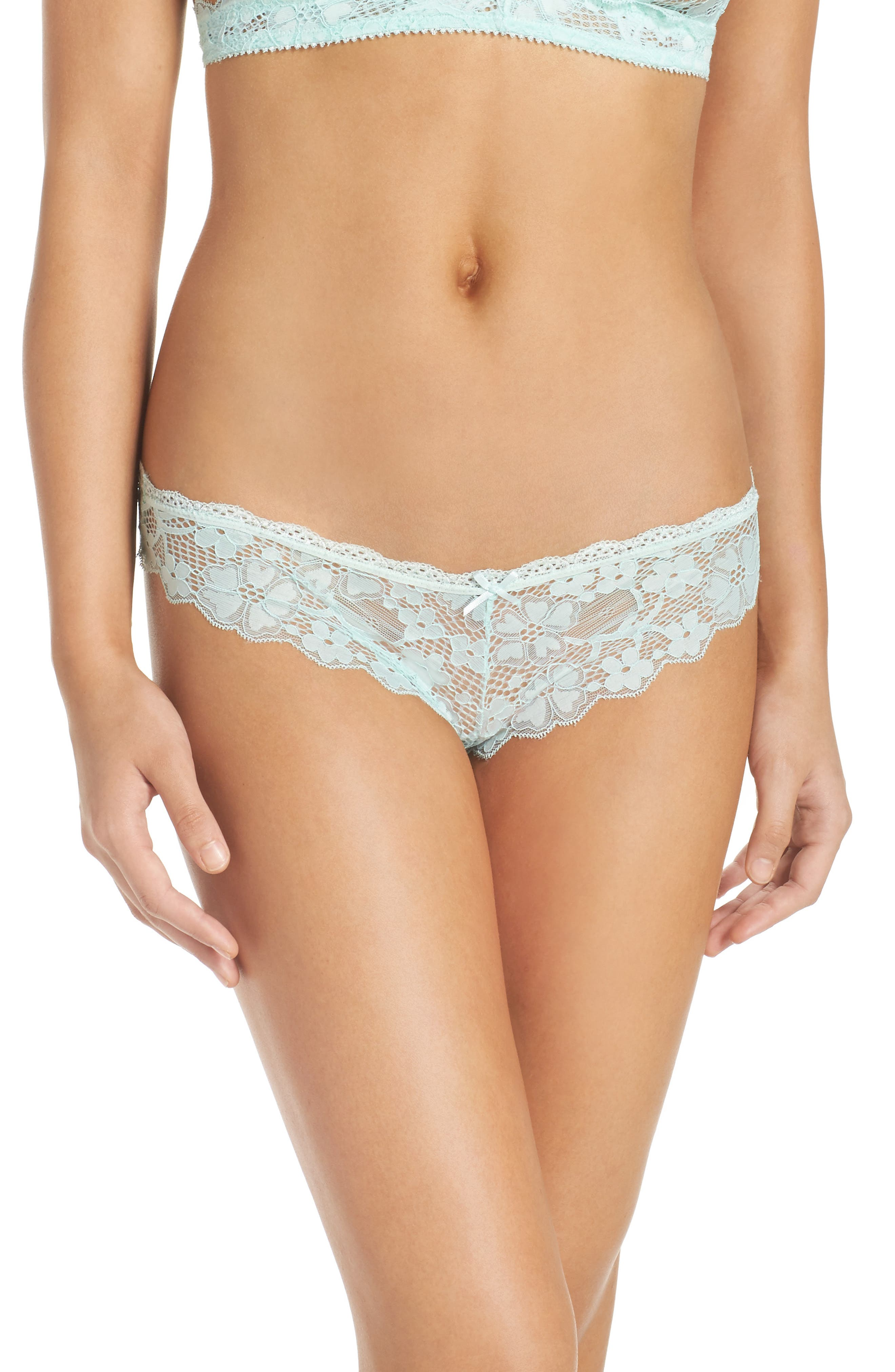 Honeydew Intimates Camellia Lace Thong (3 for $33)