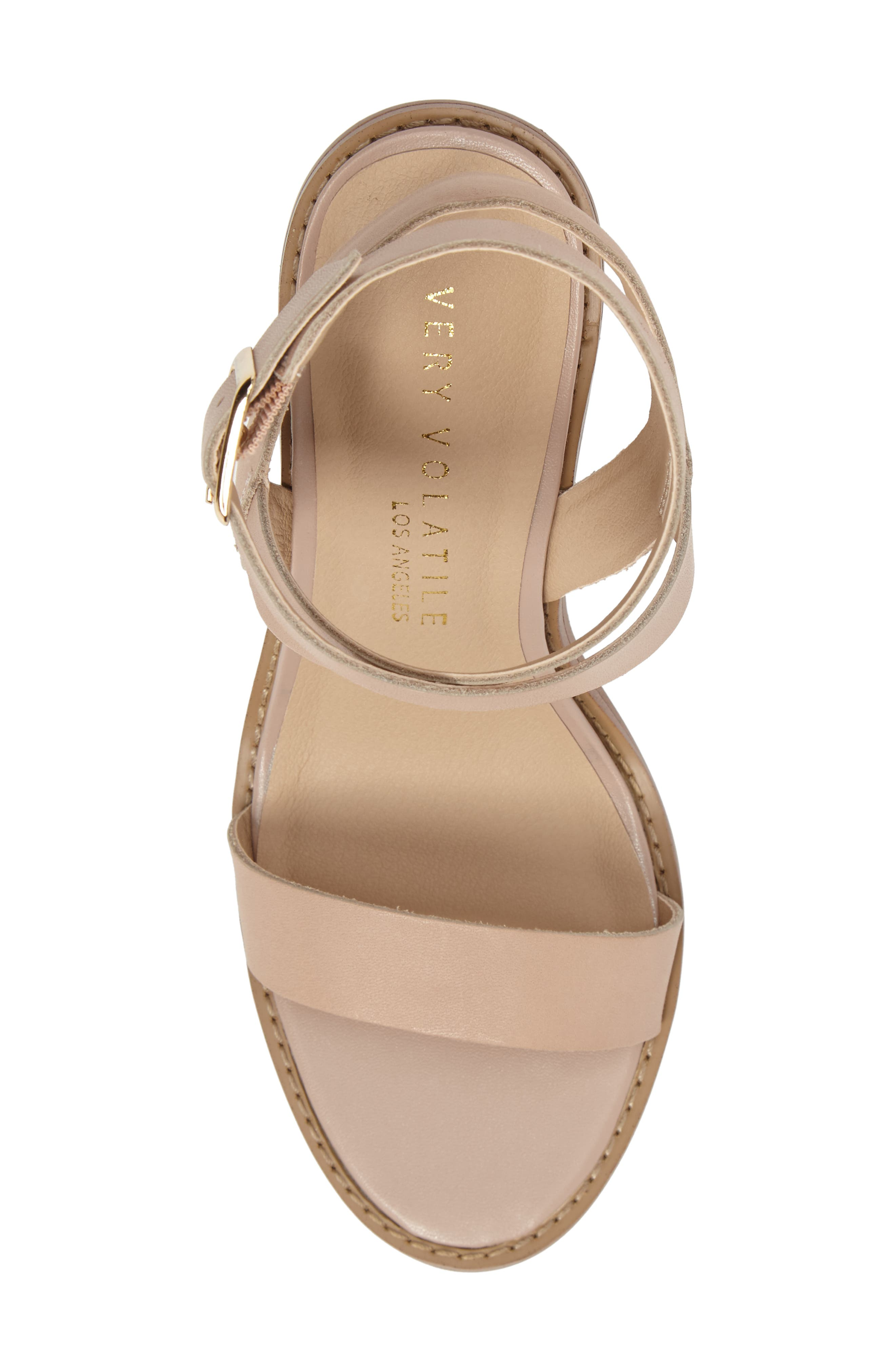 Alternate Image 5  - Very Volatile Poshy Ankle Wrap Sandal (Women)