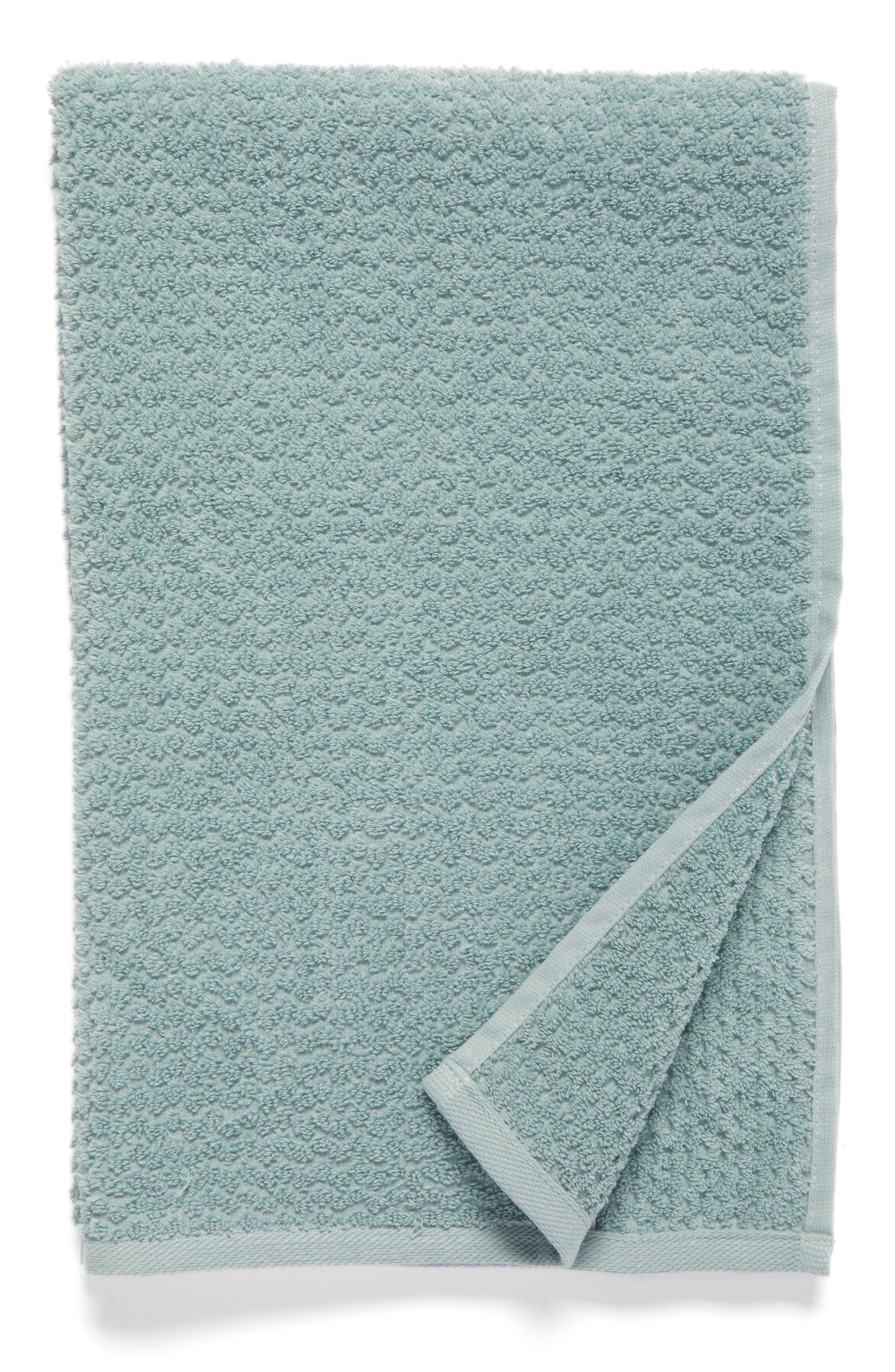 NORDSTROM AT HOME Piqué Jacquard Hand Towel