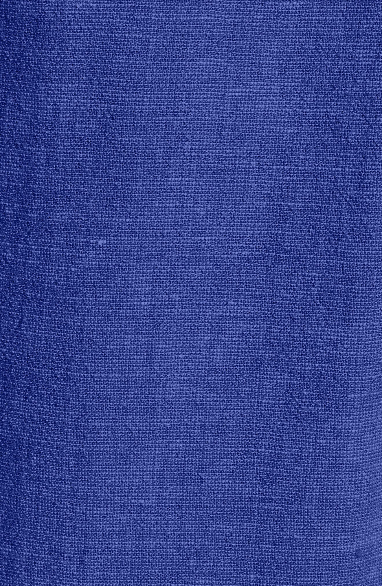 Alternate Image 5  - Vineyard Vines Linen Blend Shirtdress