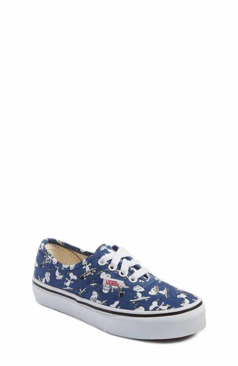 Vans x Peanuts Authentic Sneaker (Toddler, Little Kid   Big Kid)