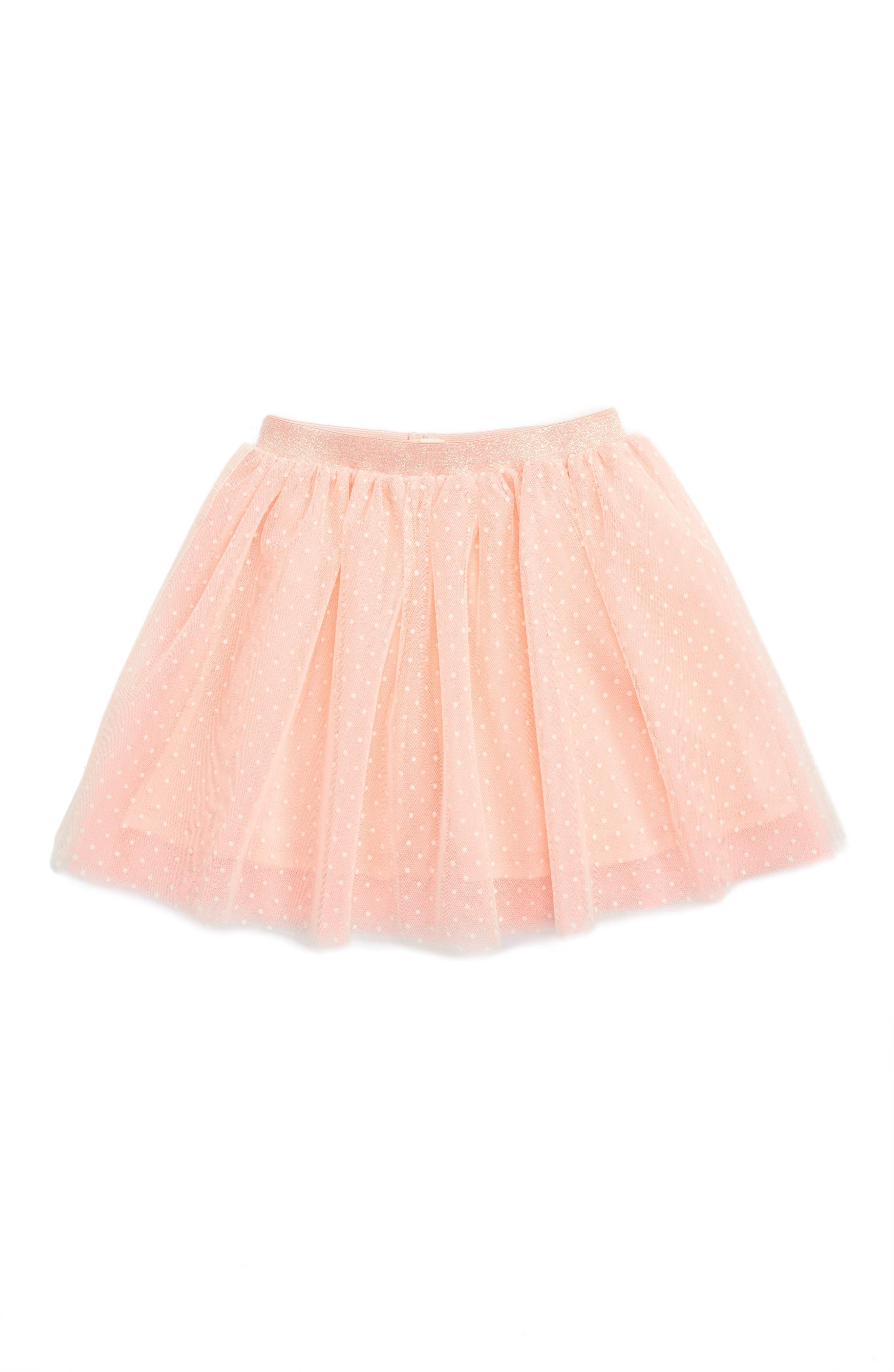 Truly Me Polka Dot Tutu Skirt (Toddler Girls & Little Girls)