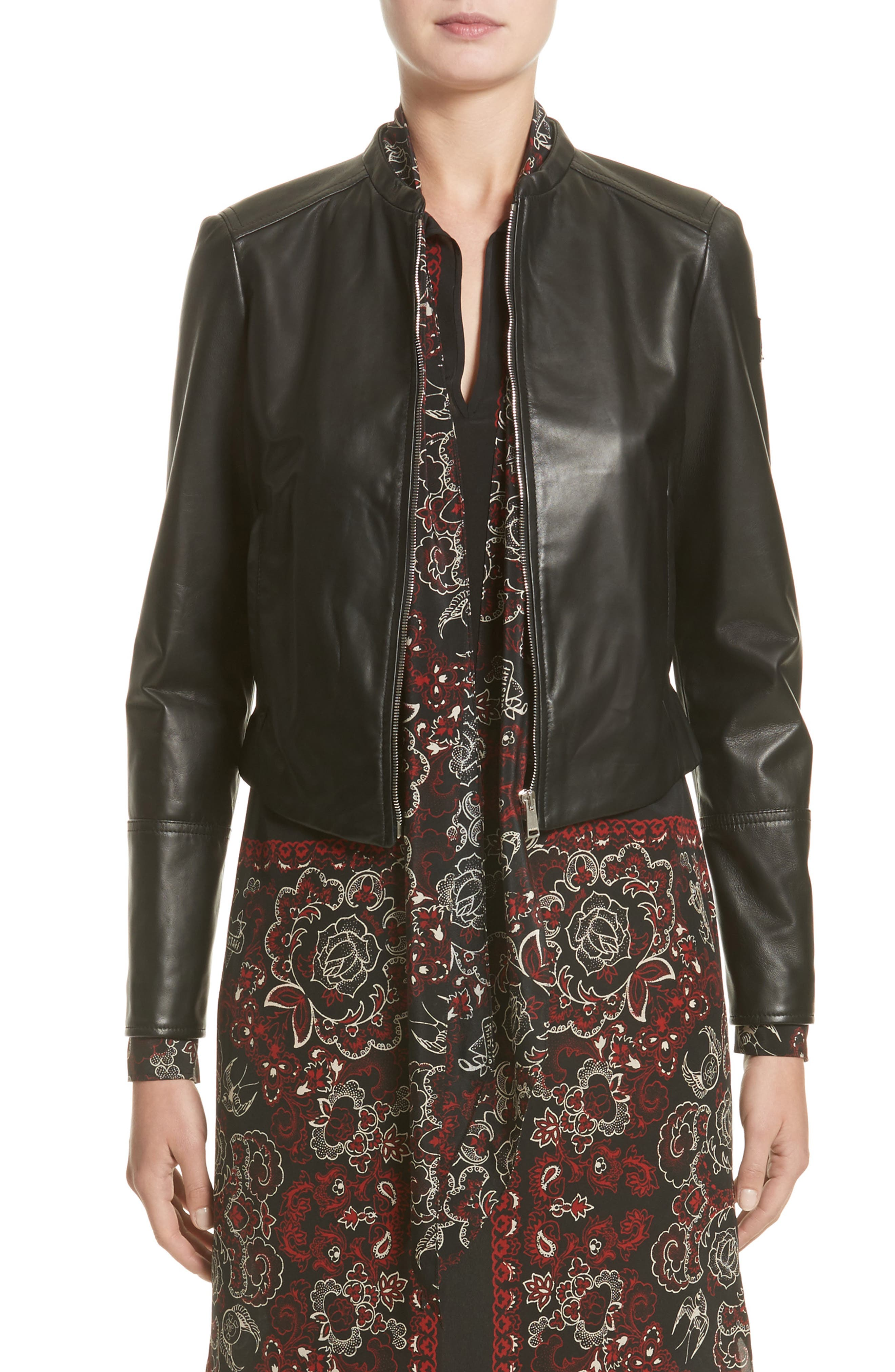 Belstaff Carrack Leather Jacket (Nordstrom Exclusive)