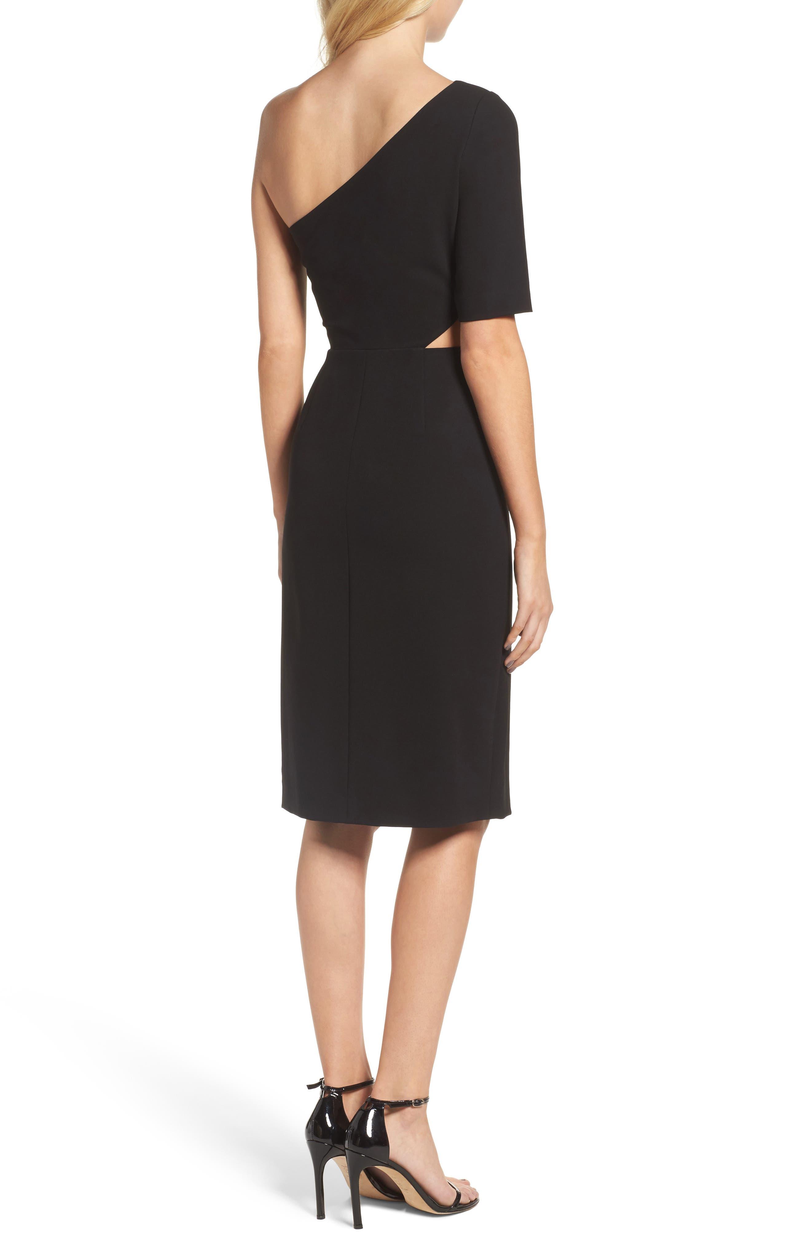 Alternate Image 2  - Jill Jill Stuart One-Shoulder Sheath Dress