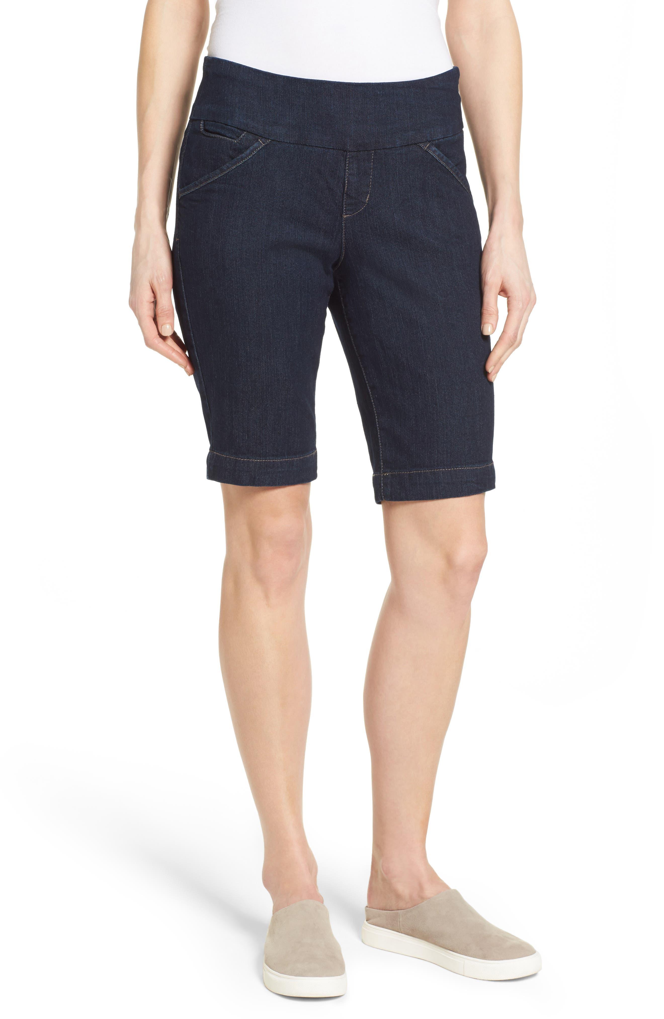 Alternate Image 4  - Jag Jeans Ainsley Slim Denim Bermuda Shorts