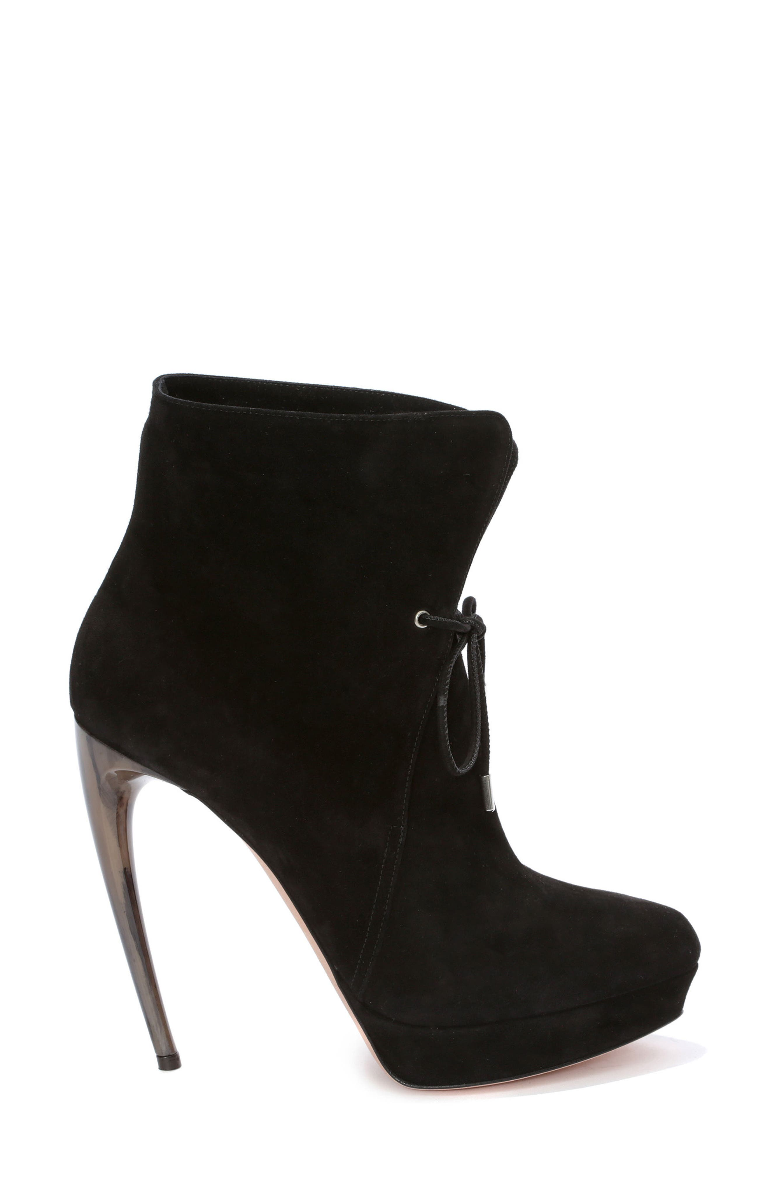Alexander McQueen Lace Up Bootie (Women)