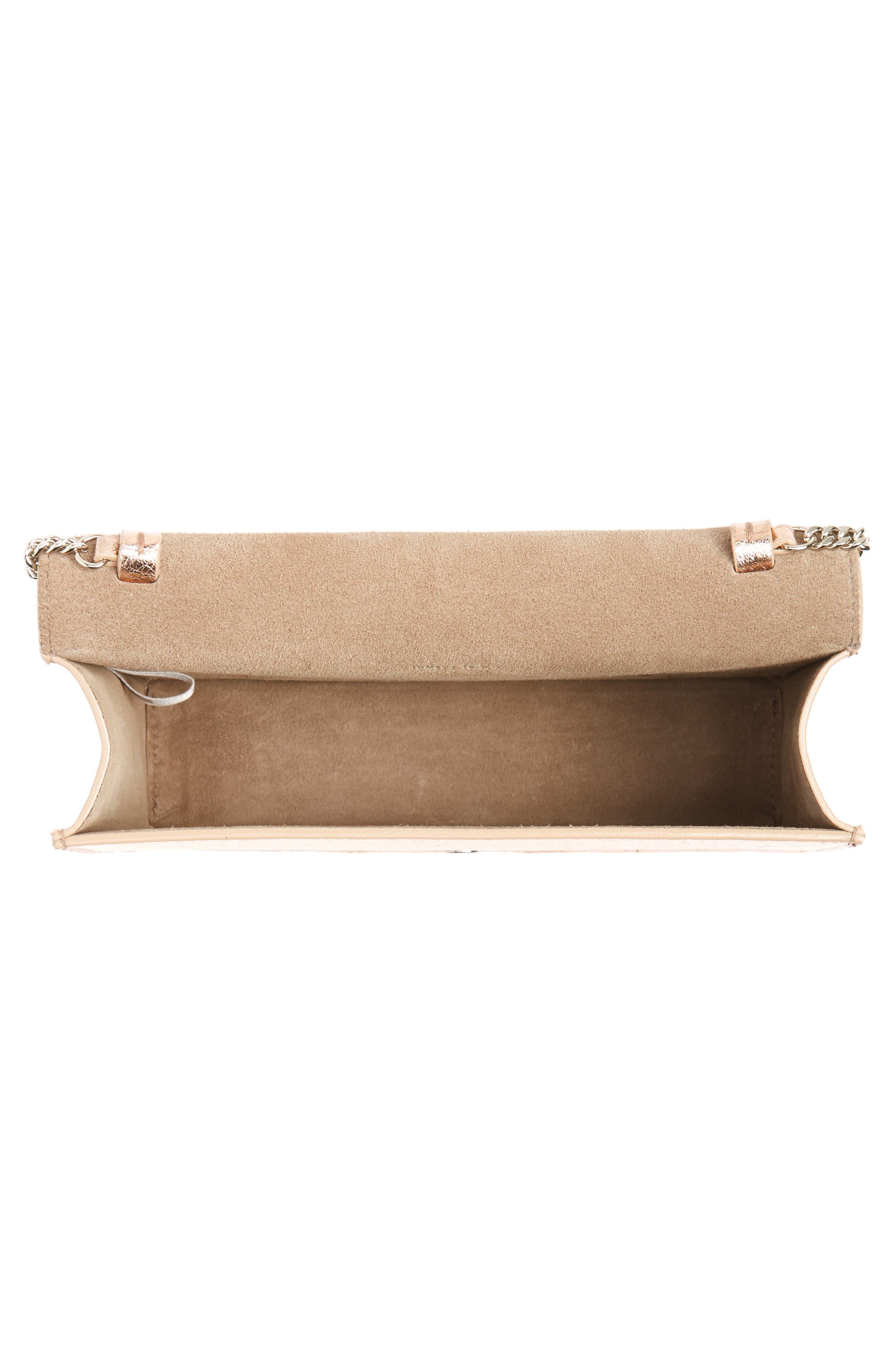 Alternate Image 5  - Jimmy Choo Leila Grainy Lambskin Leather Crossbody Bag