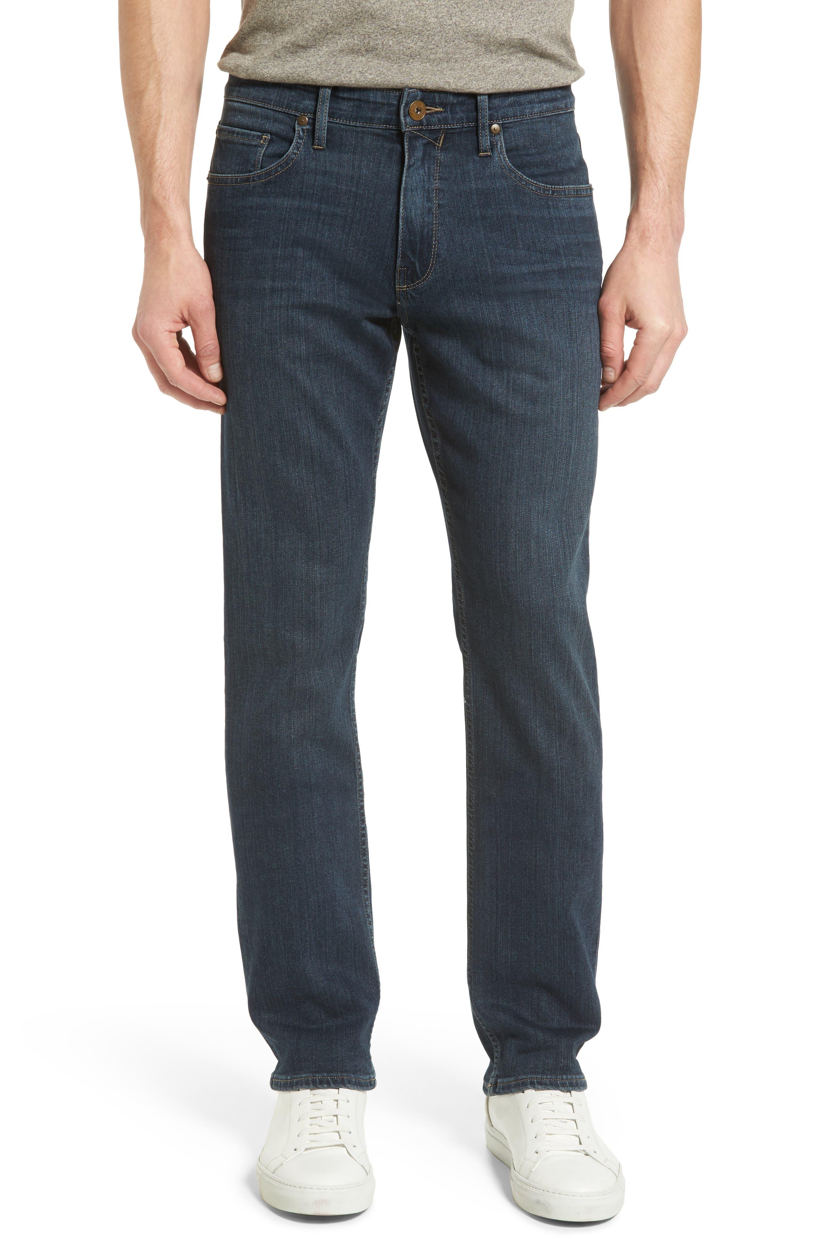 PAIGE Transcend - Normandie Straight Leg Jeans (Husk)