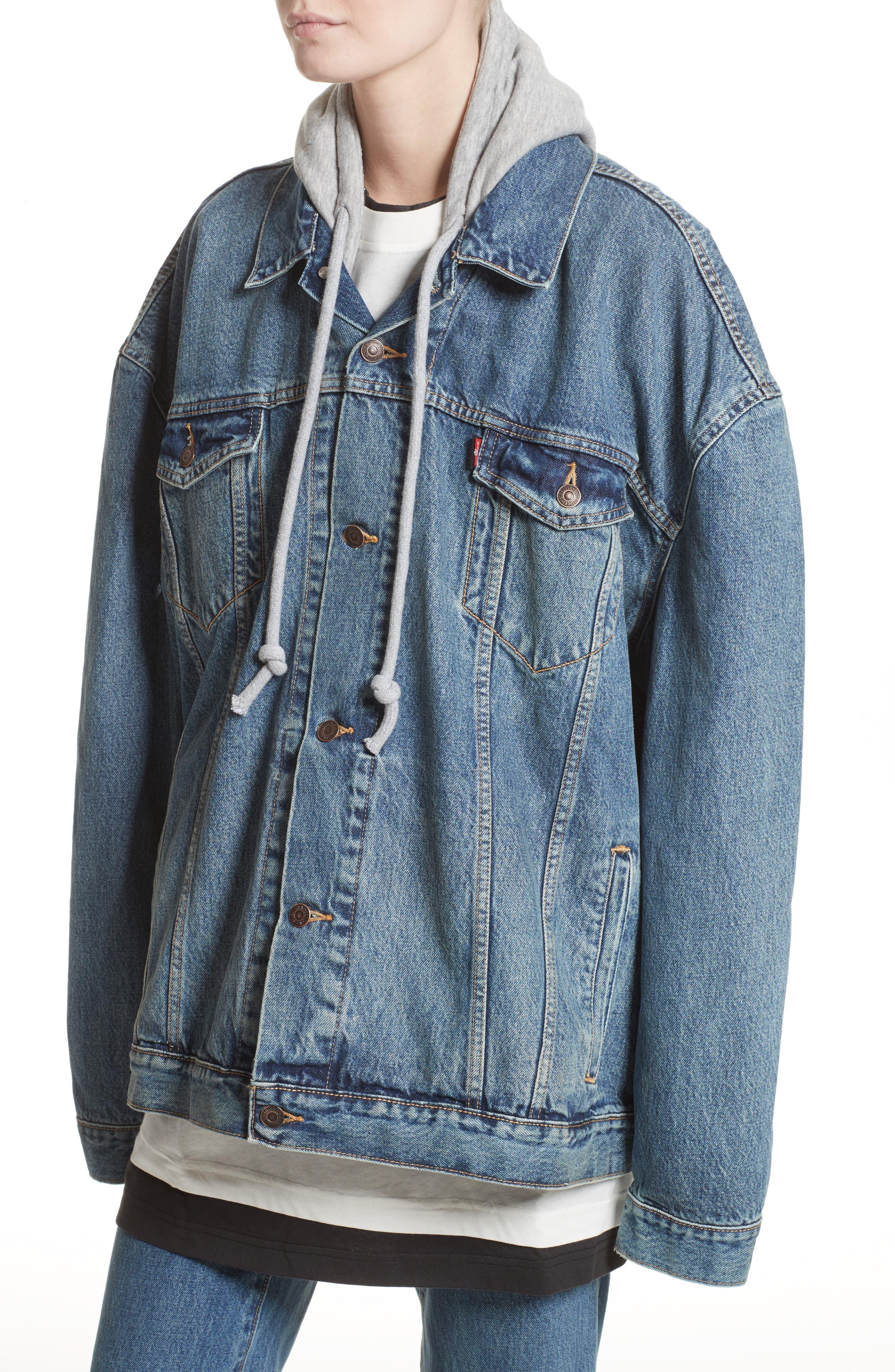 Alternate Image 5  - Vetements x Levi's® Denim Jacket