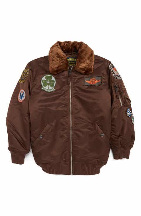 Kids' Brown Coats & Jackets   Nordstrom