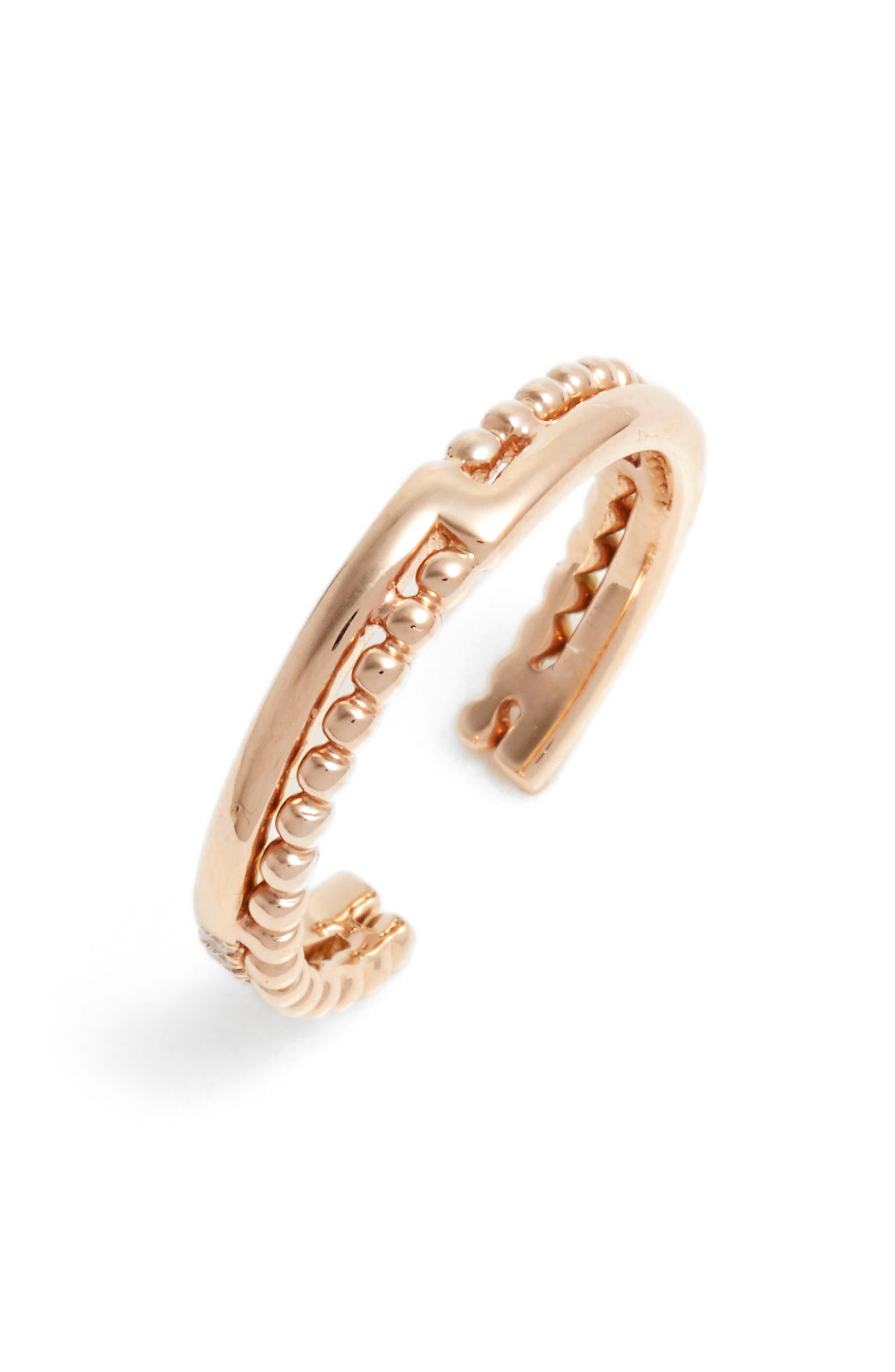 Dana Rebecca Designs Poppy Rae Diamond Open Ring