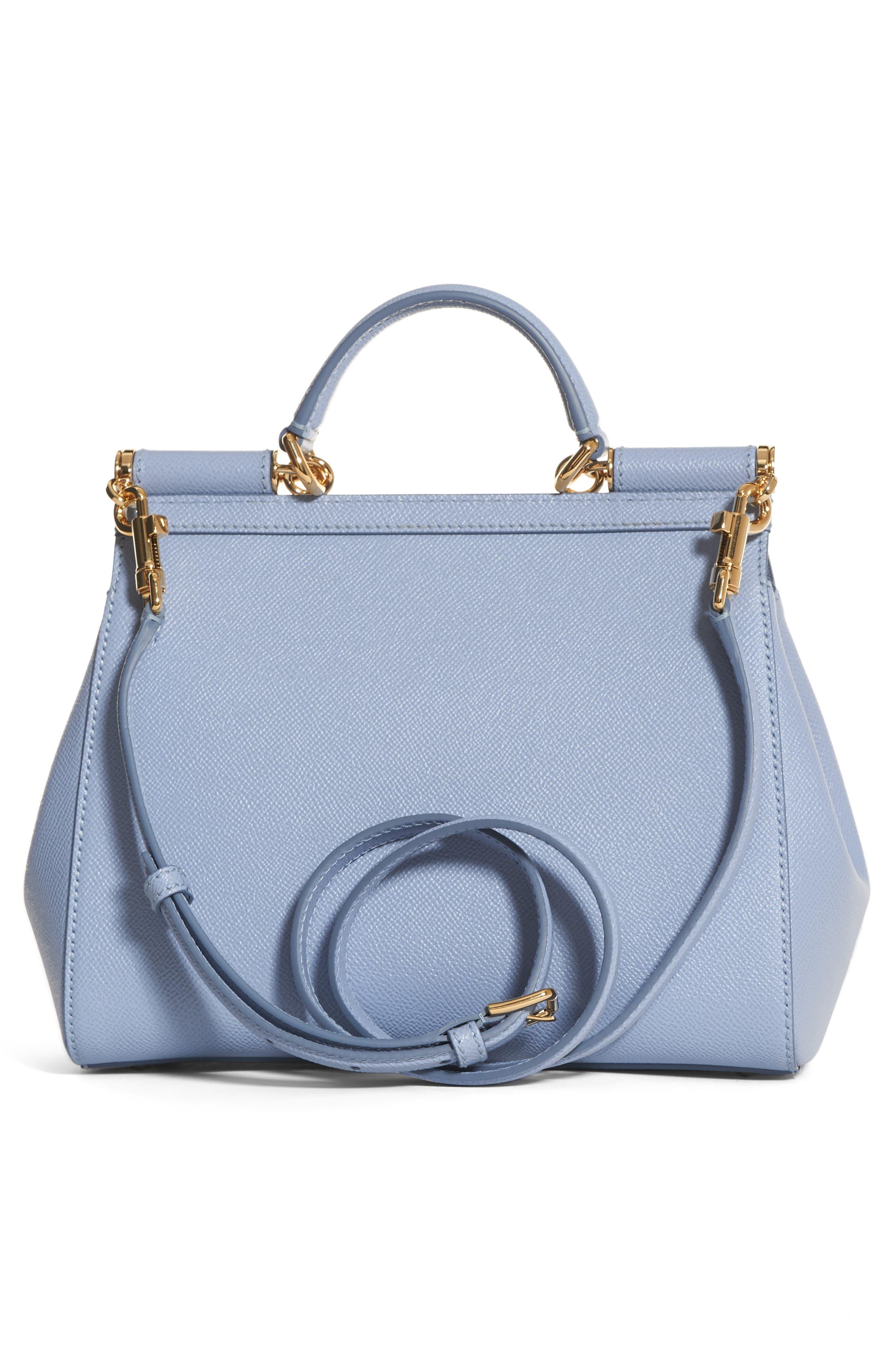 Alternate Image 2  - Dolce&Gabbana 'Small Miss Sicily' Leather Satchel