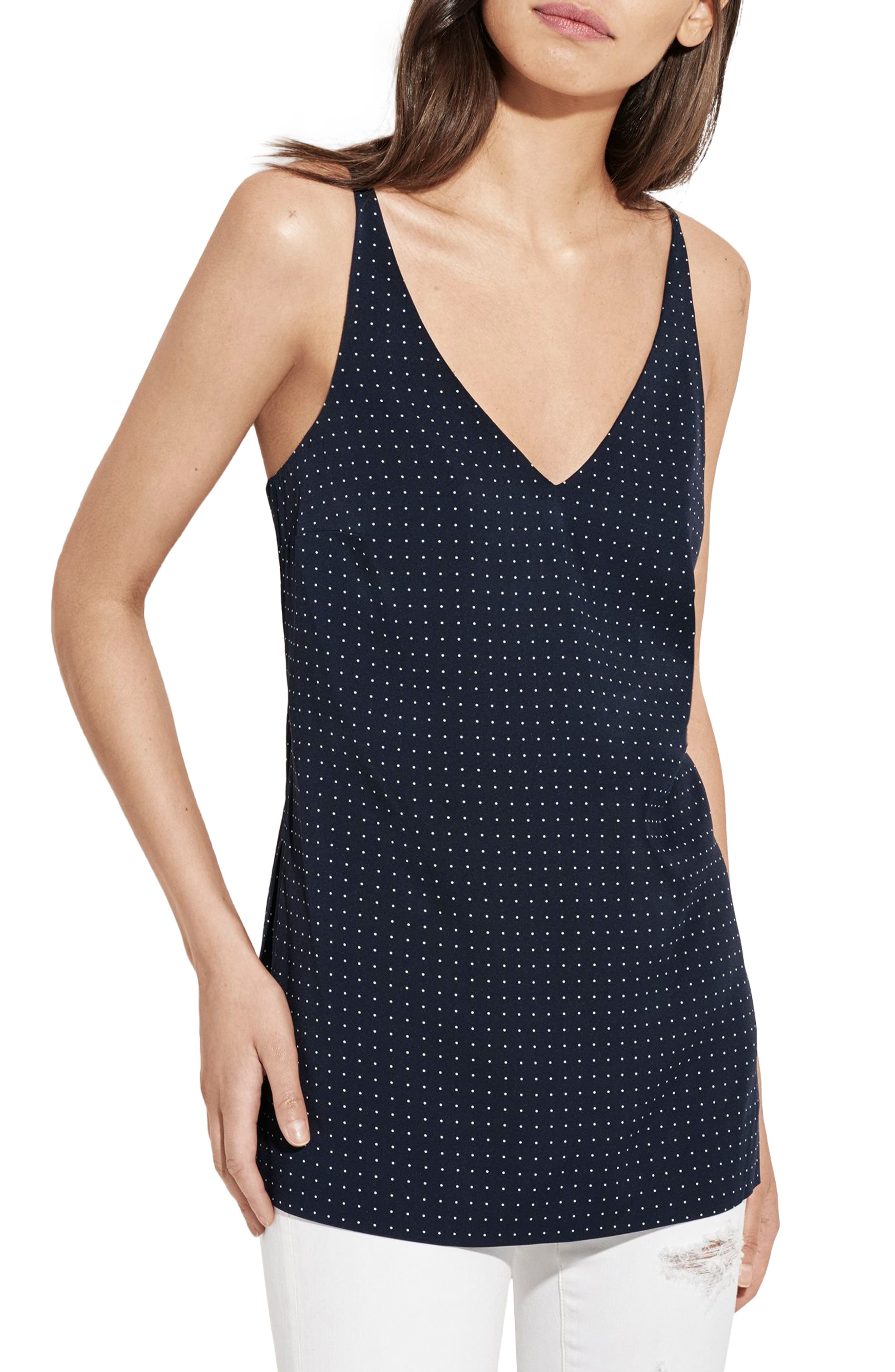 AYR The Atlas Dot Silk Tank