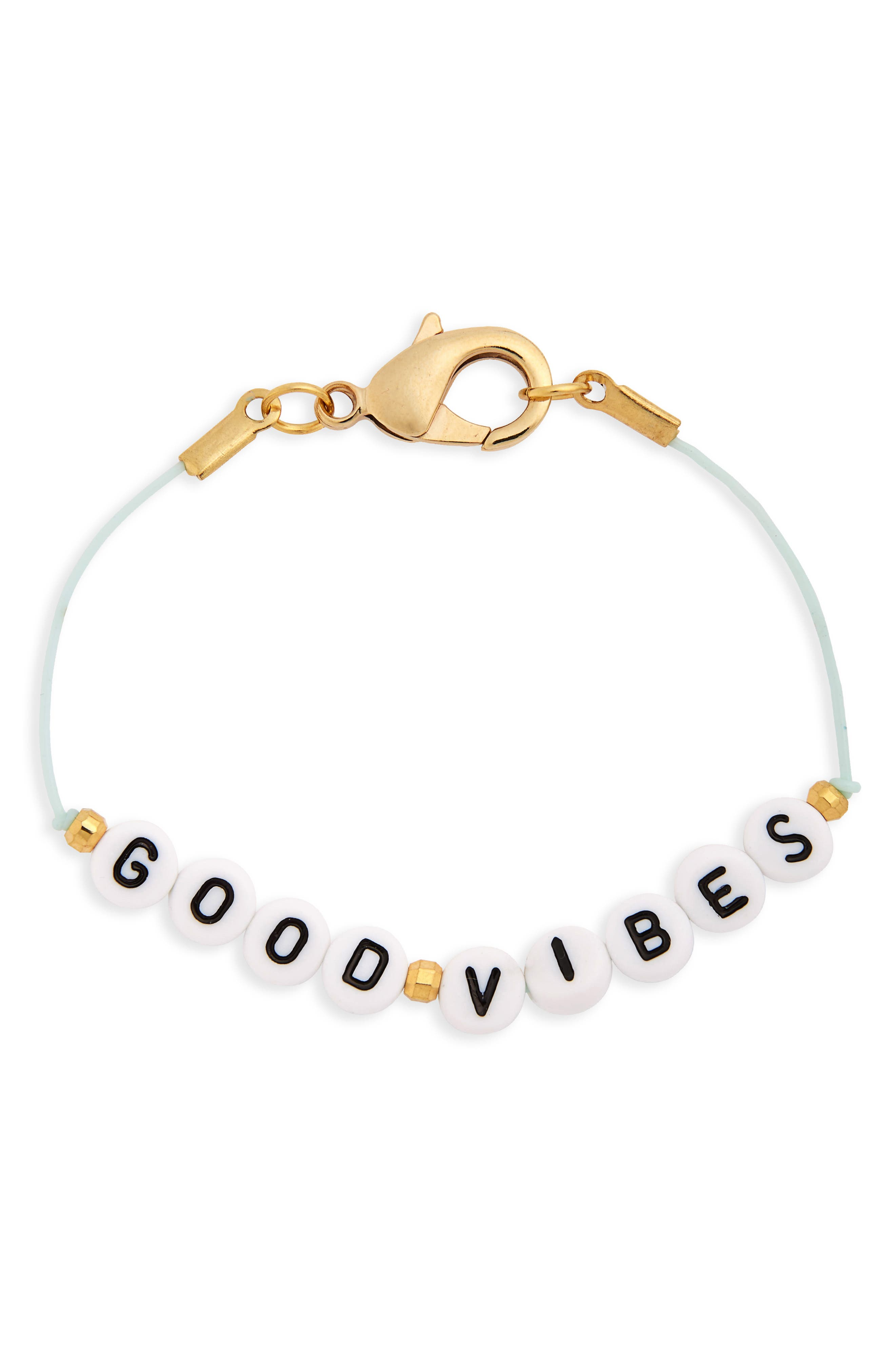 Ryan Porter Good Vibes Cord Bracelet