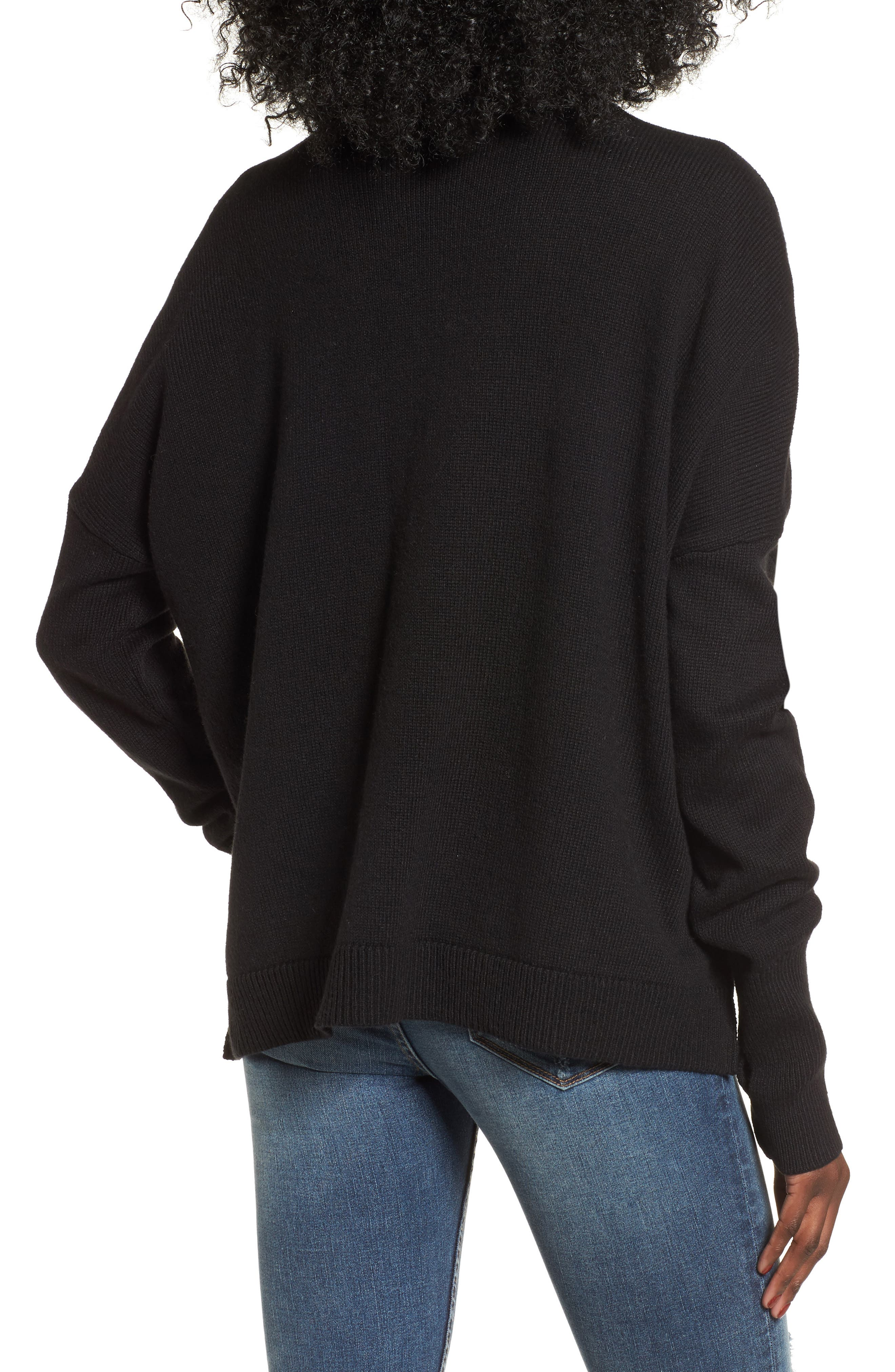 Alternate Image 2  - BP. Cutout Neck Pullover