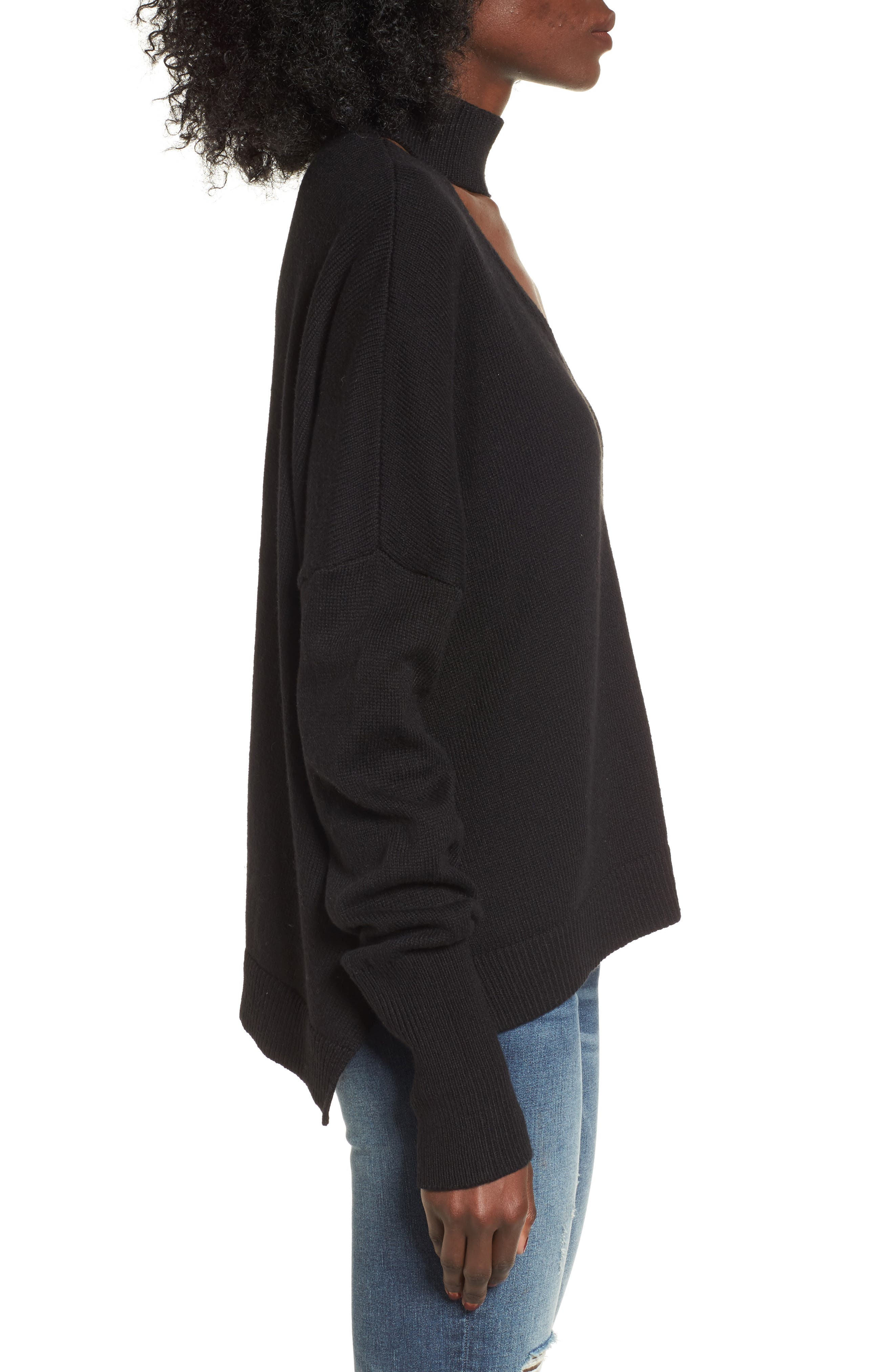 Alternate Image 3  - BP. Cutout Neck Pullover