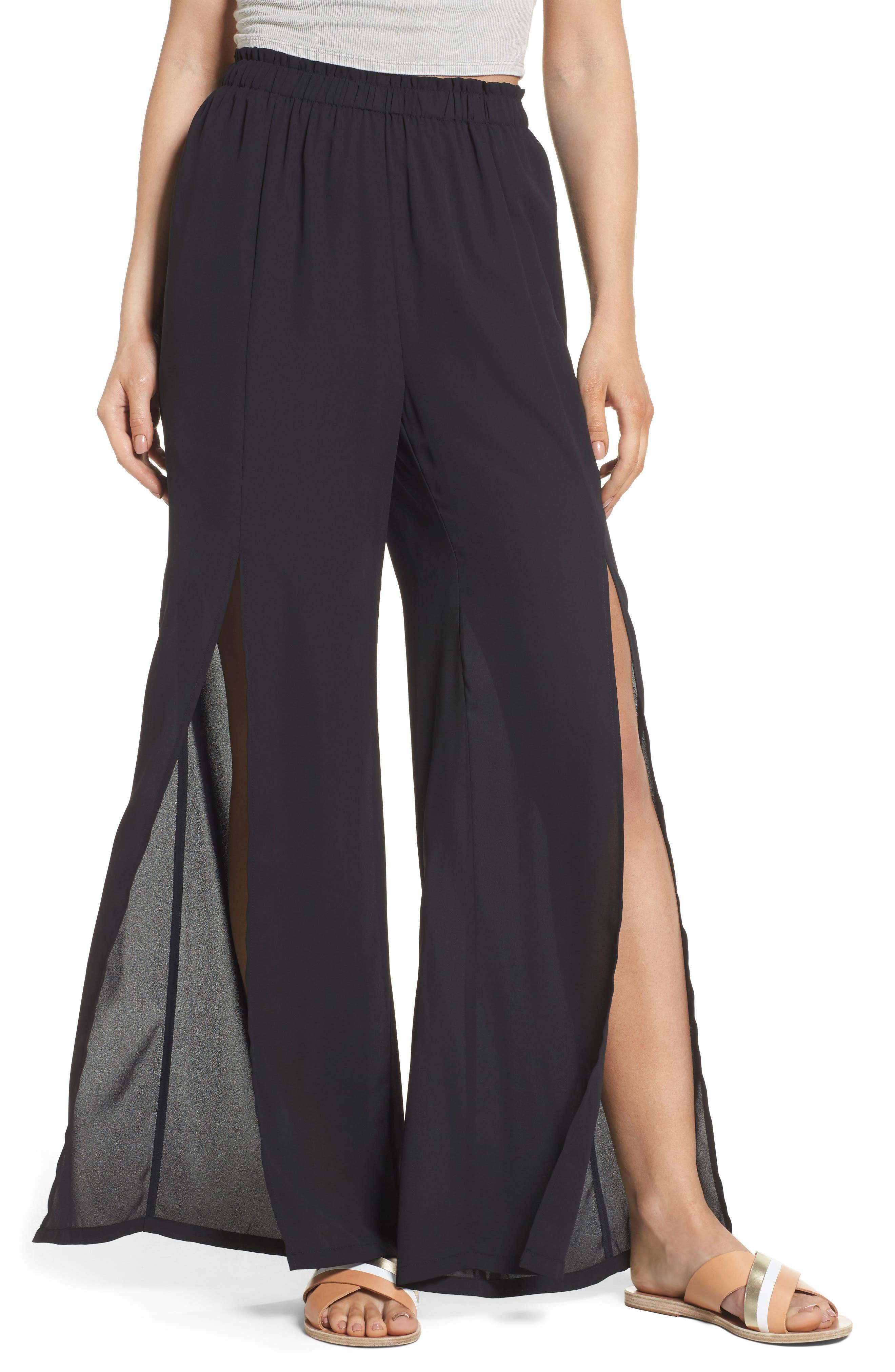 Mimi Chica Slit Detail Pants