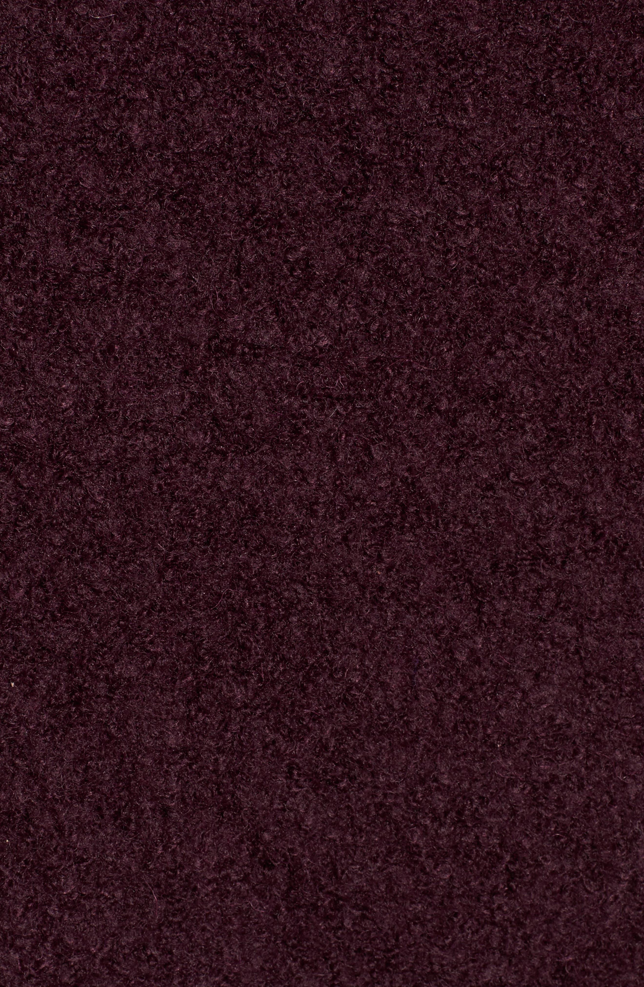 Alternate Image 5  - Andrew Marc Paige Wool Blend Bouclé Coat
