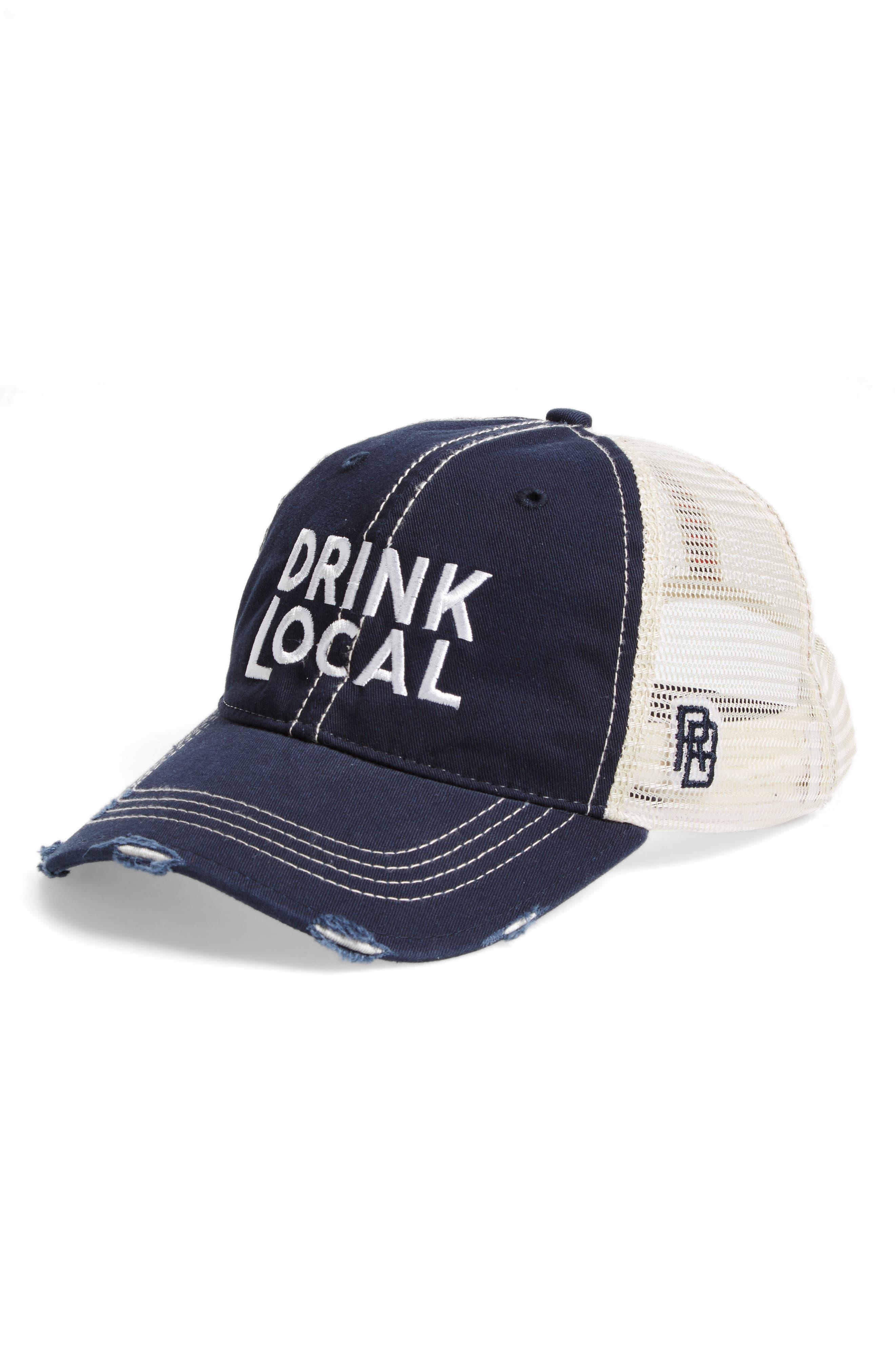 Original Retro Brand Drink Local Trucker Hat