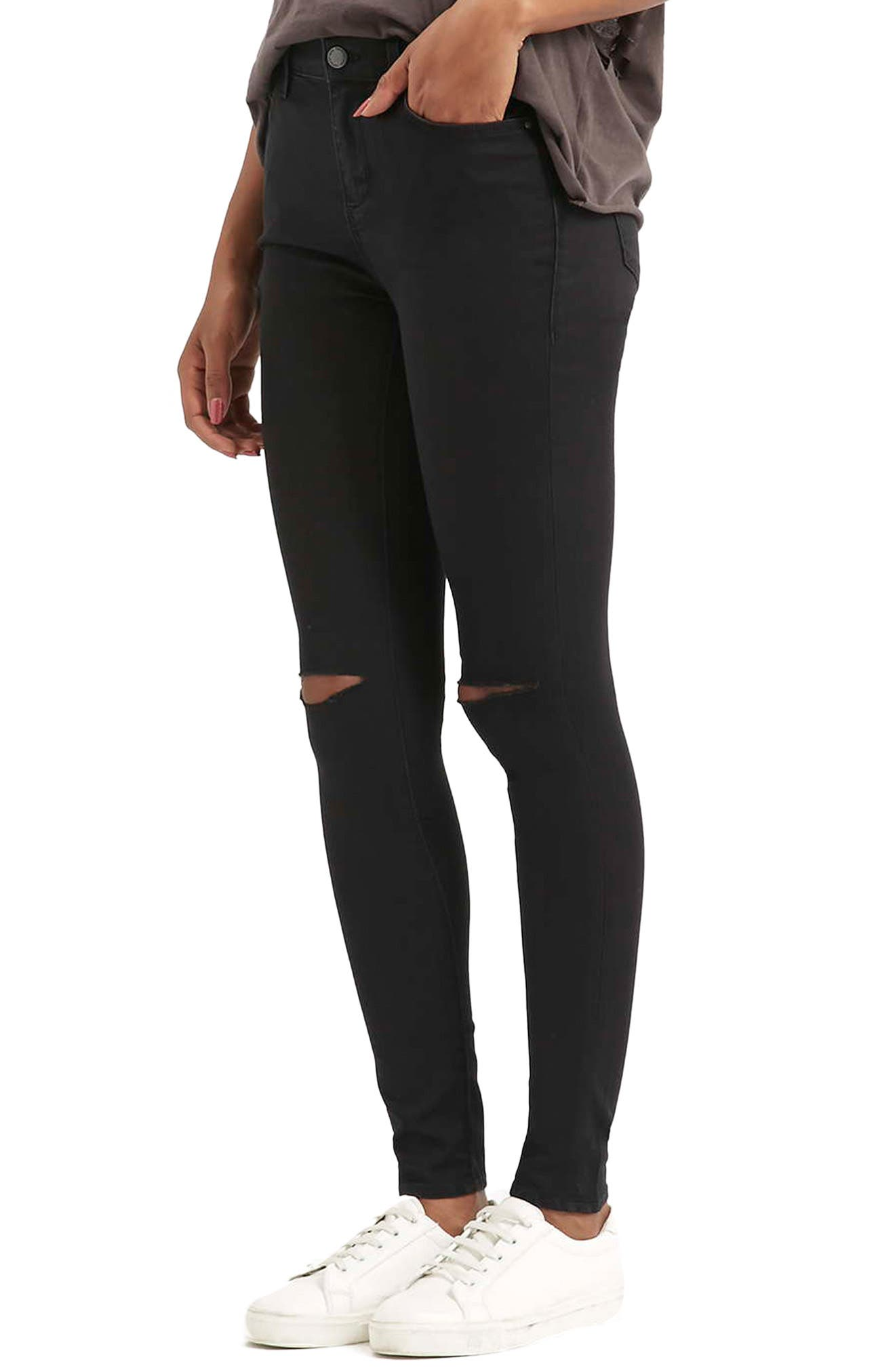 Topshop Moto Leigh Ripped Skinny Jeans | Nordstrom